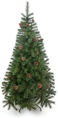 Новогодняя сказка Венская ель с шишками 120 см