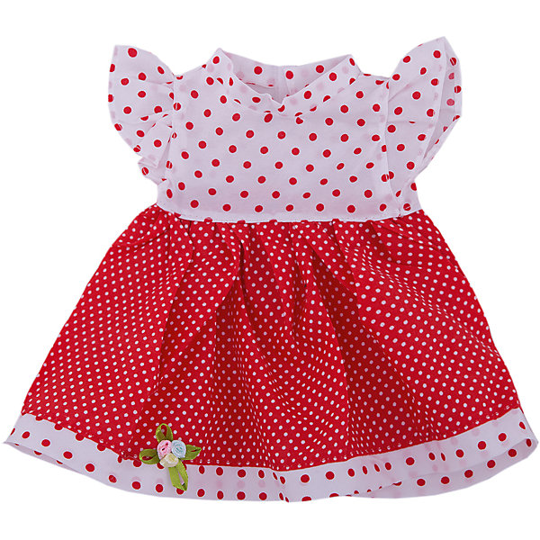 Одежда для кукол: красное платье, JUNFAОдежда для кукол<br>Характеристики:<br><br>• тип игрушки: одежда для кукол;<br>• возраст: от 3 лет;<br>• цвет: синий;<br>• высота куклы: 27 см;<br>• размер: 25,5x1x36 см;<br>•комплект: платье, вешалка;<br>• бренд: Junfa Toys;<br>• упаковка: пакет;<br>• материал: пластик, текстиль.<br><br>Одежда для кукол «Платье синее» JUNFA позволит ребенку украсить куклу одеждой. Одежда для кукол выполнена из приятного на ощупь текстиля высокого качества, а надёжные аккуратные швы обеспечат изделию долгий срок службы.  <br><br>Милое летнее платье выполнено в сочетании красного и белого цветов, украшено принтом «горошек». Оно пошито  из качественной ткани, благодаря чему его можно стирать и гладить в случае необходимости. В процессе игры девочка  будет учиться правильно подбирать одежду по стилю и цветам, развивая чувства стиля и вкуса.<br><br>Одежду для кукол «Платье синее» JUNFA можно купить в нашем интернет-магазине.<br><br>Ширина мм: 255<br>Глубина мм: 360<br>Высота мм: 10<br>Вес г: 59<br>Возраст от месяцев: 36<br>Возраст до месяцев: 1188<br>Пол: Женский<br>Возраст: Детский<br>SKU: 5173030