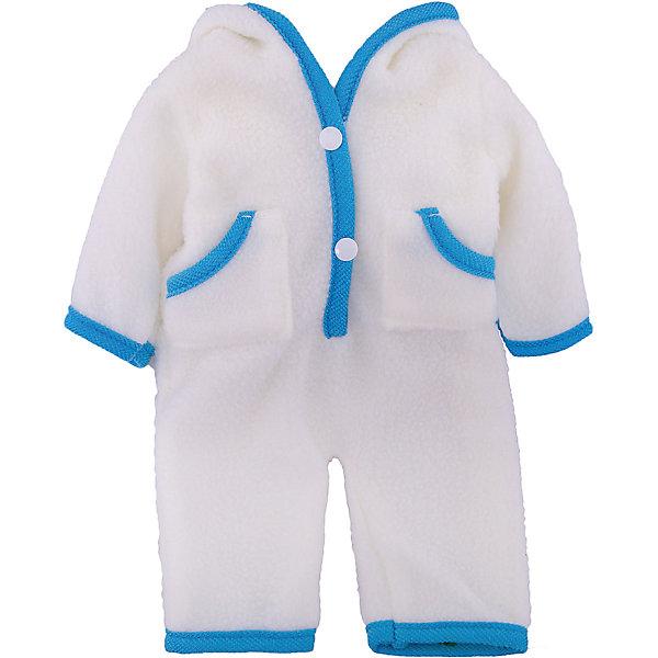 Одежда для кукол: бежевый комбинезон, JUNFAОдежда для кукол<br>Характеристики:<br><br>• тип игрушки: одежда для кукол;<br>• возраст: от 3 лет;<br>• цвет: бежевый;<br>• размер: 25x2x38 см;<br>•комплект: комбинезон, вешалка;<br>• бренд: Junfa Toys;<br>• упаковка: пакет;<br>• материал: пластик, текстиль.<br><br>Одежда для кукол «Бежевый комбинезон» JUNFA позволит ребенку украсить куклу одеждой. Одежда для кукол выполнена из приятного на ощупь текстиля высокого качества, а надёжные аккуратные швы обеспечат изделию долгий срок службы.  <br>Набор одежды состоит из бежевого комбинезона с открытыми ножками и красной окантовкой. Он застёгивается на 2 пуговки поставляется в комплекте с вешалкой. Он изготовлен из качественного текстиля, который не вызывает аллергии и отлично подходит для прохладной погоды.<br><br>Одежду для кукол «Бежевый комбинезон» JUNFA можно купить в нашем интернет-магазине.<br><br>Ширина мм: 250<br>Глубина мм: 20<br>Высота мм: 380<br>Вес г: 68<br>Возраст от месяцев: 36<br>Возраст до месяцев: 1188<br>Пол: Женский<br>Возраст: Детский<br>SKU: 5173034