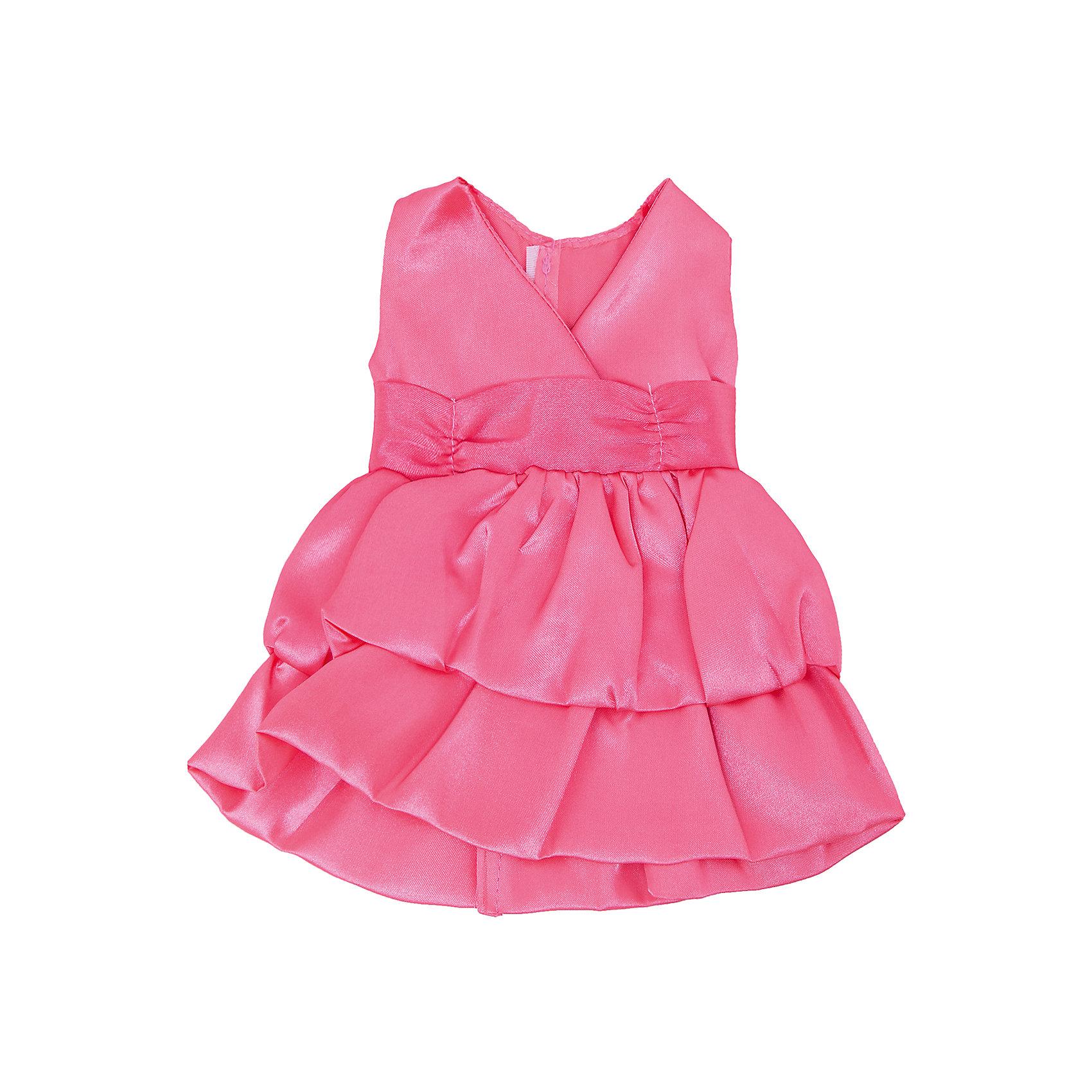 Одежда для кукол: розовое платье, атласное, JUNFAКукольная одежда и аксессуары<br>Одежда для кукол: розовое платье, атласное, JUNFA (Джунфа).<br><br>Характеристика:<br><br>• Материал: текстиль. <br>• Размер: 25,5х26 см.<br>• Идеально подходит для кукол Baby Love высотой 30 см. <br>• Комплектация: платье, вешалка. <br><br>Нежное атласное платье для самой лучшей куклы на свете! Розовое платье с пышной юбкой и небольшим бантом выполнено из высококачественных материалов, подходит для кукол высотой 30 см. <br><br>Одежду для кукол: розовое платье, атласное, JUNFA (Джунфа), можно купить в нашем интернет-магазине.<br><br>Ширина мм: 255<br>Глубина мм: 360<br>Высота мм: 10<br>Вес г: 73<br>Возраст от месяцев: 36<br>Возраст до месяцев: 1188<br>Пол: Женский<br>Возраст: Детский<br>SKU: 5173037