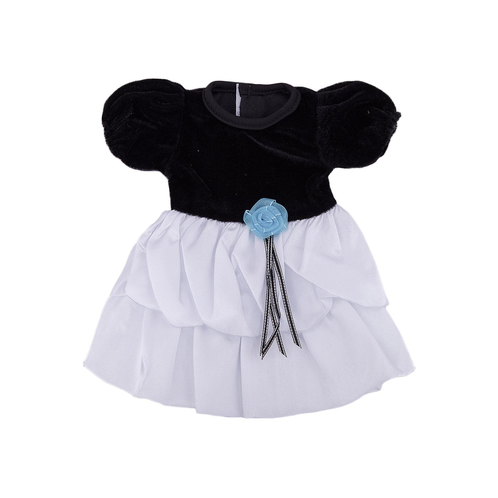 Одежда для кукол: черно-белое платье, JUNFAКукольная одежда и аксессуары<br><br><br>Ширина мм: 255<br>Глубина мм: 360<br>Высота мм: 10<br>Вес г: 77<br>Возраст от месяцев: 36<br>Возраст до месяцев: 1188<br>Пол: Женский<br>Возраст: Детский<br>SKU: 5173038