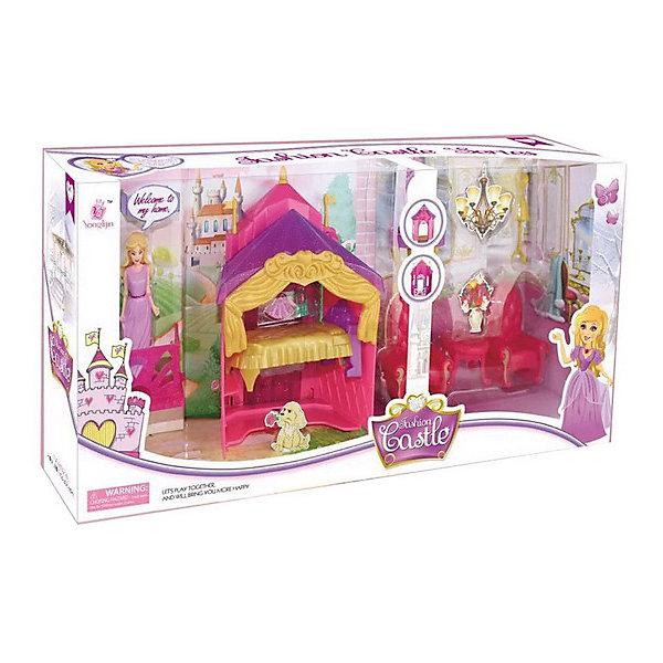 Набор Замок, красный, 13 предм., JUNFAДомики для кукол<br>Характеристики:<br><br>• тип игрушки: набор замок;<br>• возраст: от 3 лет;<br>• размер: 46.5x9x22.5 см;<br>• комплектация: мебель, фигурка, аксессуары;<br>• упаковка: картонная коробка блистерного типа;<br>• бренд: JUNFA;<br>• материал: пластик, текстиль.<br><br>Набор «Замок», красный, 13 предм., JUNFA включает в себя  все необходимые предметы для создания чудесного уютного жилища. Яркие красочные предметы, весьма детально и аккуратно проработанные, надолго привлекут внимание малышки, а игровой процесс подарит множество положительных эмоций и отличное настроение. Все детали имеющиеся в комплекте изготовлены из высококачественного пластика, абсолютно безопасного для здоровья ребенка. Игрушка особенно порадует девочек от трех лет.<br><br>Набор «Замок», красный, 13 предм., JUNFA можно купить в нашем интернет-магазине.<br>Ширина мм: 465; Глубина мм: 90; Высота мм: 225; Вес г: 583; Возраст от месяцев: 36; Возраст до месяцев: 1188; Пол: Женский; Возраст: Детский; SKU: 5173042;
