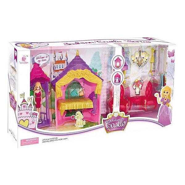 Набор Замок, розовый, 13 предм., JUNFAДомики для кукол<br>Характеристики:<br><br>• тип игрушки: набор замок;<br>• возраст: от 3 лет;<br>• размер: 46.5x9x22.5 см;<br>• комплектация: мебель, фигурка, аксессуары;<br>• упаковка: картонная коробка блистерного типа;<br>• бренд: JUNFA;<br>• материал: пластик, текстиль.<br><br>Набор «Замок», розовый, 13 предм., JUNFA включает в себя  все необходимые предметы для создания чудесного уютного жилища. Яркие красочные предметы, весьма детально и аккуратно проработанные, надолго привлекут внимание малышки, а игровой процесс подарит множество положительных эмоций и отличное настроение. <br>Все детали имеющиеся в комплекте изготовлены из высококачественного пластика, абсолютно безопасного для здоровья ребенка. Игрушка особенно порадует девочек от трех лет.<br><br>Набор «Замок», розовый, 13 предм., JUNFA можно купить в нашем интернет-магазине.<br><br>Ширина мм: 465<br>Глубина мм: 90<br>Высота мм: 225<br>Вес г: 583<br>Возраст от месяцев: 36<br>Возраст до месяцев: 1188<br>Пол: Женский<br>Возраст: Детский<br>SKU: 5173043