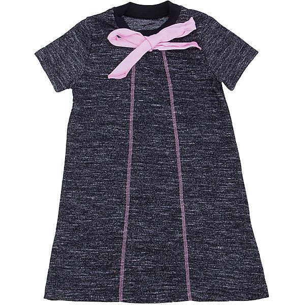 Платье для девочки АпрельПлатья и сарафаны<br>Платье для девочки от известного бренда Апрель.<br>Очаровательное платье для девочки выполнено из хлопкового полотна с добавлением лайкры. Простой крой, декоративные швы и изящный бант контрастного цвета делают платье незаменимым предметом гардероба каждой модницы! Рекомендуется машинная стирка при температуре 40 градусов без предварительного замачивания.<br>Состав:<br>полиэстер 64% + вискоза 25% + лайкра 11%<br>Ширина мм: 236; Глубина мм: 16; Высота мм: 184; Вес г: 177; Цвет: черный; Возраст от месяцев: 60; Возраст до месяцев: 72; Пол: Женский; Возраст: Детский; Размер: 116,140,134,128,122,146; SKU: 5173122;