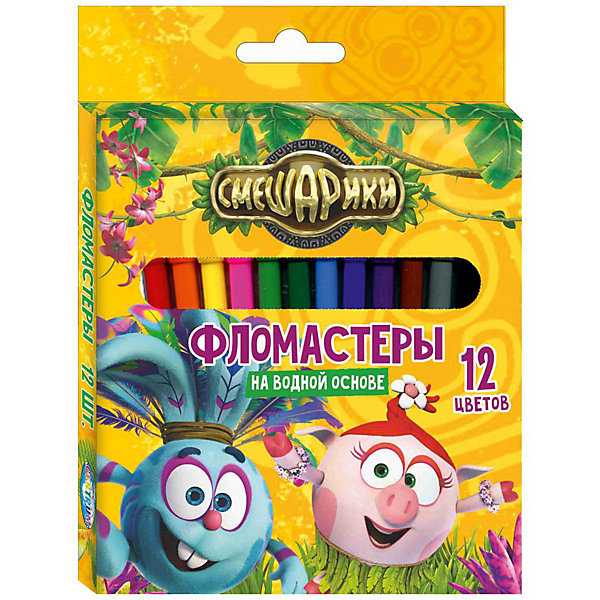 Фломастеры Крош 12 цветов, СмешарикиФломастеры<br>Фломастеры Крош 12 цветов, Смешарики, Centrum (Центрум)<br><br>Характеристики:<br><br>• 12 ярких цветов<br>• безопасны для ребенка<br>• яркий дизайн с героями мультфильма<br>• размер упаковки: 16,5х12х1 см<br><br>С помощью фломастеров Крош от Centrum ваш ребенок сможет создать самые прекрасные рисунки, проявив свою фантазию. В набор входят 12 фломастеров ярких цветов. Они полностью безопасны для творчества. Привлекательный дизайн с любимыми героями порадует ребенка и вдохновит на создание новых шедевров!<br><br>Фломастеры Крош, 12 цветов, Смешарики, Centrum (Центрум) вы можете купить в нашем интернет-магазине.<br>Ширина мм: 10; Глубина мм: 120; Высота мм: 165; Вес г: 73; Возраст от месяцев: 36; Возраст до месяцев: 120; Пол: Унисекс; Возраст: Детский; SKU: 5175353;