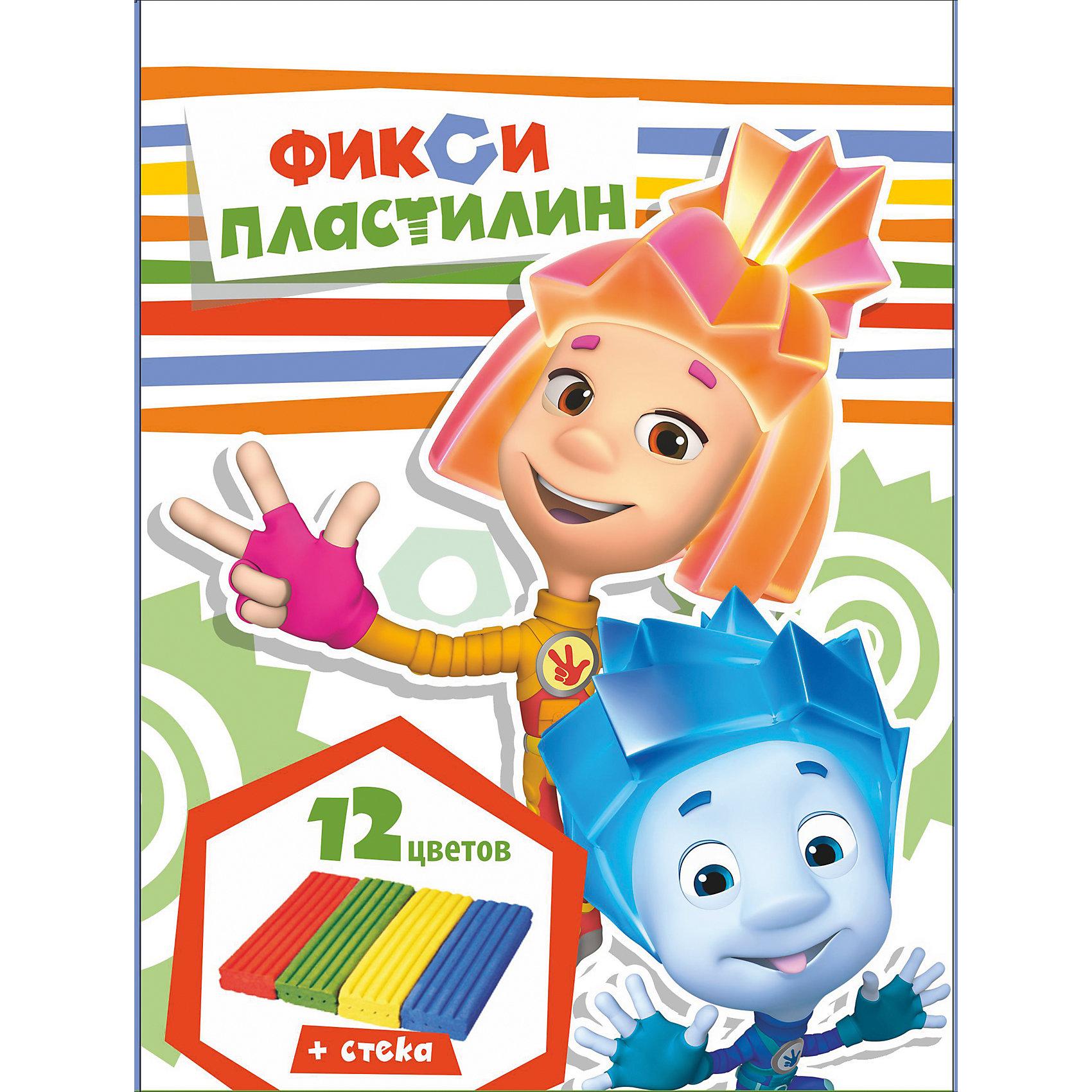 Пластилин Фиксики 12 цветов, 240 гПластилин Фиксики 12 цветов, 240 г, Centrum (Центрум)<br><br>Характеристики:<br><br>•яркие цвета<br>• хорошо мнется<br>• привлекательная упаковка с любимыми героями мультфильма<br>• размер упаковки: 1,5х22х14,5 см<br>•в комплекте: 12 брусков пластилина, стек<br>• вес: 240 грамм<br><br>Лепка из пластилина - очень увлекательное занятие, особенно если на помощь приходят Фиксики. Набор пластилина от Centrum содержит 12 брусочков пластилина. Он хорошо мнется и не липнет к рукам. Также в наборе есть стек, который поможет ребенку отделить необходимое количество пластилина.<br><br>Пластилин Фиксики 12 цветов, 240 г, Centrum (Центрум) вы можете купить в нашем интернет-магазине.<br><br>Ширина мм: 15<br>Глубина мм: 145<br>Высота мм: 220<br>Вес г: 250<br>Возраст от месяцев: 36<br>Возраст до месяцев: 120<br>Пол: Унисекс<br>Возраст: Детский<br>SKU: 5175363