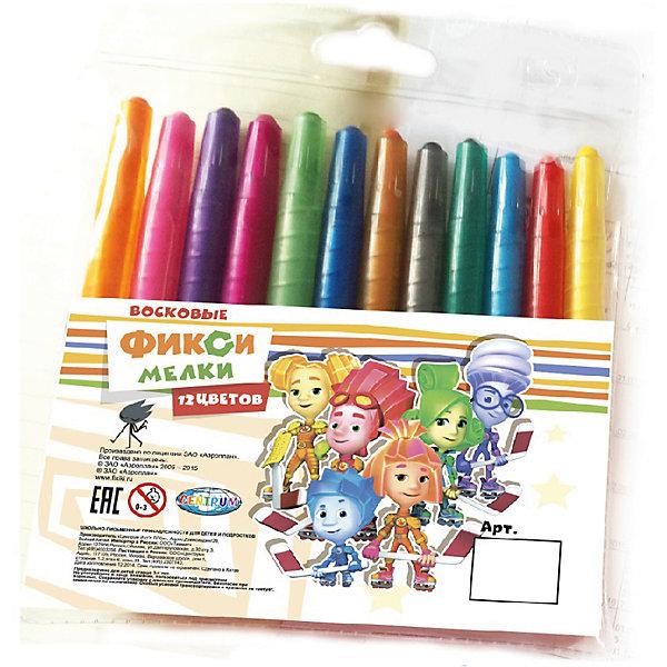 Мелки восковые  выкручивающиеся Фиксики, 12 цветовМасляные и восковые мелки<br>Мелки восковые выкручивающиеся Фиксики, 12 цветов, Centrum (Центрум)<br><br>Характеристики:<br><br>• яркие цвета<br>• безопасны для ребенка<br>• привлекательный дизайн с любимыми героями<br>• в комплекте: мелки 12 цветов<br>• материал: воск, красители, пластик<br>• размер: 14,5х13х1 см<br><br>Восковые мелки Фиксики отлично подойдут для создания первых шедевров ребенка. Они изготовлены из воска, безопасного для детей. Мелки выкручиваются, что позволяет защитит их от возможных поломок. В набор входят 12 ярких цветов. С их помощью ребенок сможет создать самую прекрасную картину на радость близким!<br><br>Мелки восковые выкручивающиеся Фиксики, 12 цветов, Centrum (Центрум) вы можете купить в нашем интернет-магазине.<br>Ширина мм: 10; Глубина мм: 130; Высота мм: 145; Вес г: 87; Возраст от месяцев: 36; Возраст до месяцев: 120; Пол: Унисекс; Возраст: Детский; SKU: 5175372;