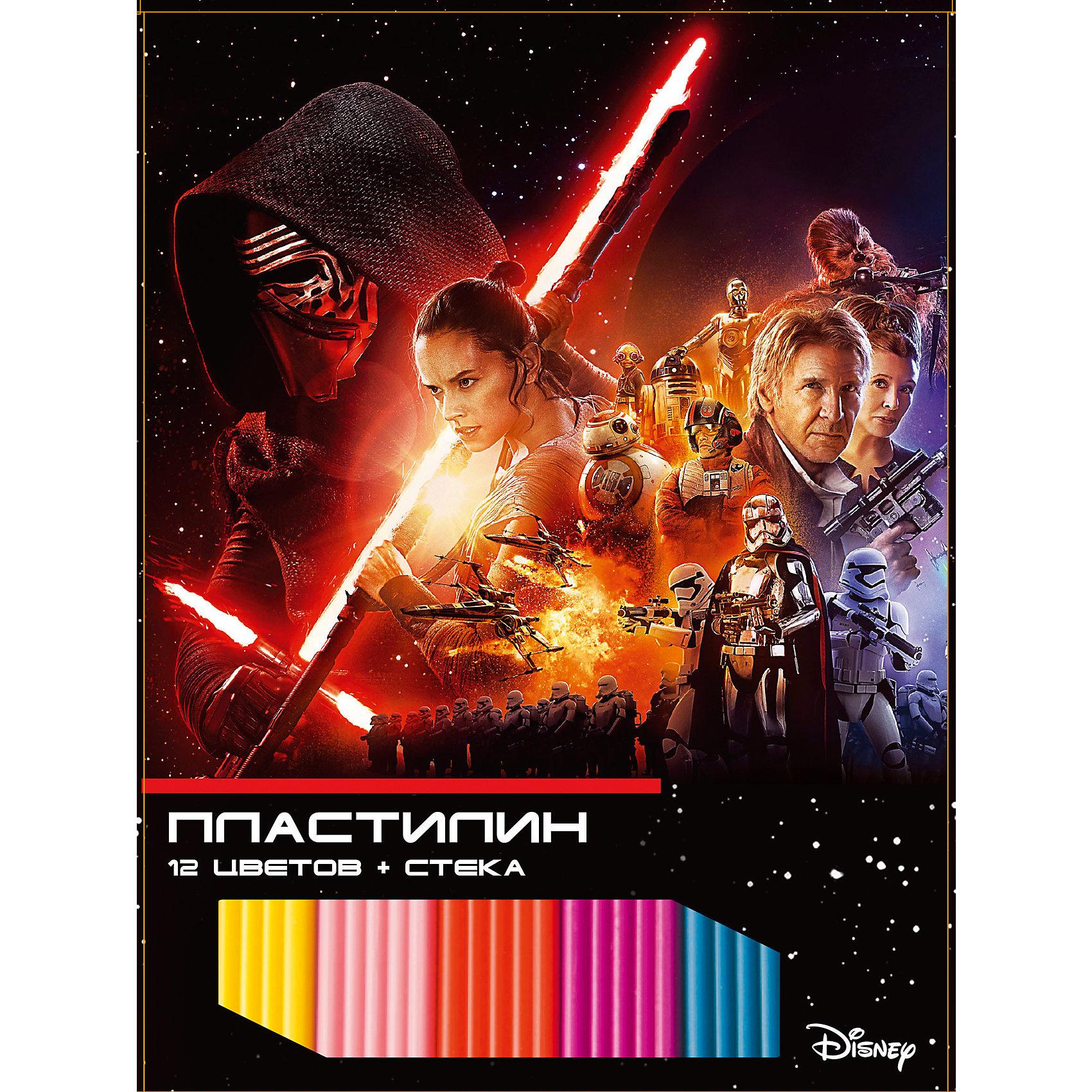 Пластилин Звездные войны 12 цветов, 240 гПластилин Звездные войны 12 цветов, 240 г, Centrum (Центрум)<br><br>Характеристики:<br><br>•яркие цвета<br>• хорошо мнется<br>• привлекательная упаковка с любимыми героями <br>• размер упаковки: 1,5х22х14,5 см<br>•в комплекте: 12 брусков пластилина, стек<br>• вес: 240 грамм<br><br>Лепка из пластилина - очень увлекательное занятие, особенно если за дело берутся отважные герои Звездных войн. Набор пластилина от Centrum содержит 12 брусочков пластилина. Он хорошо мнется и не липнет к рукам. Также в наборе есть стек, который поможет ребенку отделить необходимое количество пластилина.<br><br>Пластилин Звездные войны 12 цветов, 240 г, Centrum (Центрум) вы можете купить в нашем интернет-магазине.<br><br>Ширина мм: 15<br>Глубина мм: 145<br>Высота мм: 220<br>Вес г: 250<br>Возраст от месяцев: 36<br>Возраст до месяцев: 120<br>Пол: Мужской<br>Возраст: Детский<br>SKU: 5175399