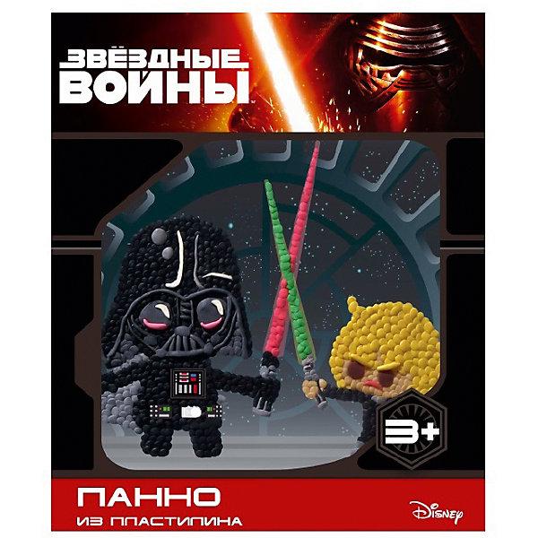 Панно из пластилина Звездные войныЗвездные войны<br>Панно из пластилина Звездные войны, Centrum (Центрум)<br><br>Характеристики:<br><br>• яркая картинка из пластилина<br>• привлекательный дизайн с любимыми героями<br>• в комплекте: пластилин (10 цветов), стек, картинка<br>• размер: 5х22,5х18,5 см<br>• вес: 300 грамм <br><br>Пожалуй, каждый ребенок любит поделки из пластилина. Набор Звездные войны откроет ребенку новые возможности для творчества. В комплект входит не только пластилин, но и картинка, которую можно украсить так, как подскажет фантазия. Делайте картинку тонкой или объемной - всё зависит только от вас. В набор входит стек, который поможет отрезать необходимое количество пластилина. Набор с изображением всем известной сцены Дарта Вейдера и Люка Скайуокера - прекрасный вариант для полезного времяпровождения!<br><br>Панно из пластилина Звездные войны, Centrum (Центрум) вы можете купить в нашем интернет-магазине.<br><br>Ширина мм: 50<br>Глубина мм: 185<br>Высота мм: 225<br>Вес г: 300<br>Возраст от месяцев: 36<br>Возраст до месяцев: 120<br>Пол: Мужской<br>Возраст: Детский<br>SKU: 5175406
