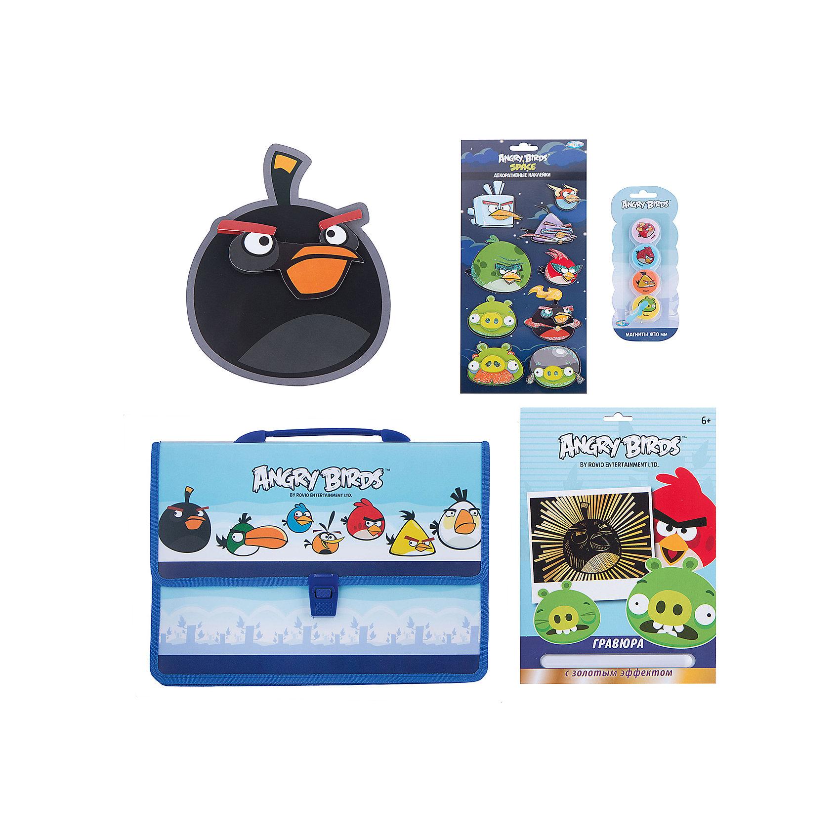 CENTRUM Набор для творчества Angry Birds (4 предмета) игровой набор angry birds telepods сражение