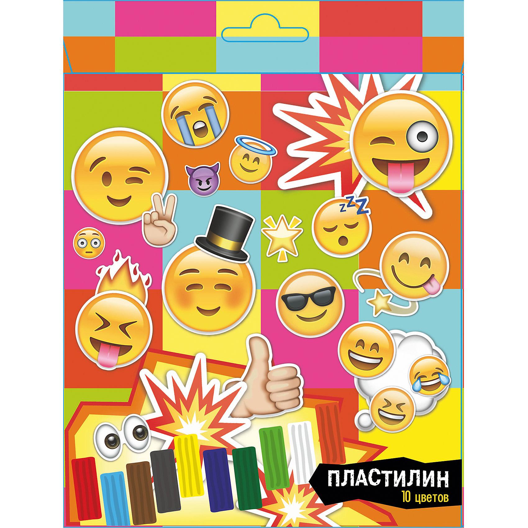 Пластилин 10 цветов Смайлы, 200 гПластилин<br>Пластилин 10 цветов Смайлы, 200 г<br><br>Характеристики:<br><br>- в набор входит: 10 кусочков пластилина, стек<br>- состав: пластилин, пластик <br>- вес: 210 гр.<br>- для детей в возрасте: от 3 до 12 лет<br>- Страна производитель: Китай<br><br>Пластилин в яркой упаковке от немецкого бренда Centrum (Центрум), который специализируется на товарах для детского творчества и развития. Состав пластилина нетоксичен и безопасен для детей. Веселые смайлики на коробочке вдохновят на новые произведения как мальчишек, так и девчонок. Яркие десять цветов пластилина можно смешивать между собой и получать новые оттенки, что понравится юным творцам. После игры пластилин можно хранить в упаковочной коробочке. Работа с пластилином разрабатывает моторику рук, творческие способности, успокаивает, помогает развить аккуратность и внимание. <br><br>Пластилин 10 цветов Смайлы, 200 г можно купить в нашем интернет-магазине.<br><br>Ширина мм: 170<br>Глубина мм: 90<br>Высота мм: 50<br>Вес г: 210<br>Возраст от месяцев: 36<br>Возраст до месяцев: 120<br>Пол: Унисекс<br>Возраст: Детский<br>SKU: 5175436