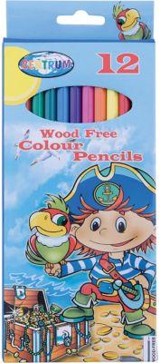 CENTRUM Длинные цветные карандаши Пират 12 цветов