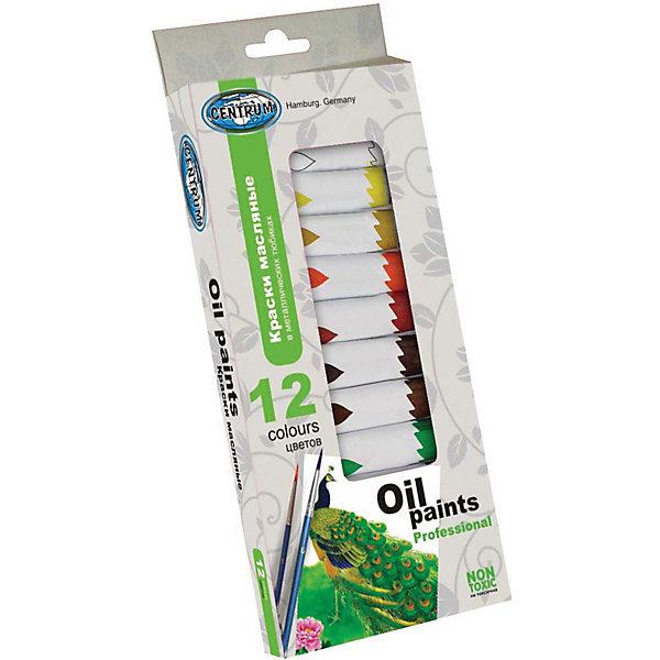 Краски масляные в металлических тюбиках, 12 цветов по 12 мл., CENTRUMХудожественные краски<br>Краски масляные в металлических тюбиках, 12 цветов по 12 мл<br><br>Характеристики:<br><br>- в набор входит: 12 тюбиков<br>- состав: масляные краски, металл<br>- размер упаковки: 11 * 2 * 25,5 см.<br>- вес: 270 гр.<br>- для детей в возрасте: от 6 до 12 лет<br>- страна производитель: Китай<br><br>Набор красок от немецкого бренда Centrum (Центрум) придет по вкусу как профессионалам, так и начинающим художникам. Масло надолго остается свежим благодаря металлическим тюбикам. Классические двенадцать цветов, которые можно смешивать между собой позволят выполнить любой шедевр. Работая с краскам дети развивают творческие способности, аккуратность, моторику рук, усидчивость, восприятие цвета и логику смешивания цветов, выражают свой внутренний мир в рисунках. <br><br>Краски масляные в металлических тюбиках, 12 цветов по 12 мл можно купить в нашем интернет-магазине.<br><br>Ширина мм: 20<br>Глубина мм: 105<br>Высота мм: 255<br>Вес г: 240<br>Возраст от месяцев: 36<br>Возраст до месяцев: 120<br>Пол: Унисекс<br>Возраст: Детский<br>SKU: 5175465