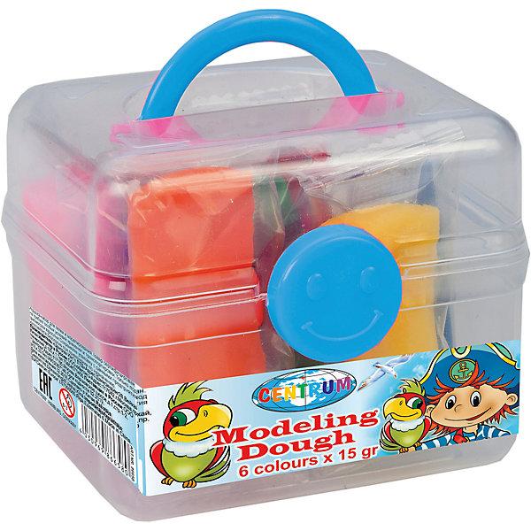 Тесто для лепки Пираты 6 цветов * 15 гТесто для лепки<br>Тесто для лепки Пираты 6 цветов * 15 г<br><br>Характеристики:<br><br>- в набор входит: чемоданчик, 6 цветов теста по 15 гр.<br>- состав: пластик, тесто: вода, мука, масло. <br>- формат: 9 * 7,5 * 7 см.<br>- вес: 150 гр.<br>- для детей в возрасте: от 3 до 7 лет<br>- Страна производитель: Китай<br><br>Тесто для лепки в удобном чемоданчике «Пираты» придет по вкусу малышам и родителям. Компания Centrum (Центрум) специализируется на товарах для тесткого творчества и развития. Безопасный состав теста нетоксичен и безопасен для детей. Веселый пират и яркие попугаи на чемоданчике понравятся мальчикам. Яркие шесть цветов теста можно смешивать между собой и получать новые оттенки, что понравится юным творцам. После игры тесто можно хранить в практичном пластиковом чемоданчике из комплекта. Работа с тестом для лепки разрабатывает моторику рук, творческие способности, успокаивает, помогает развить аккуратность и внимание. <br><br>Тесто для лепки Пираты 6 цветов * 15 г можно купить в нашем интернет-магазине.<br><br>Ширина мм: 75<br>Глубина мм: 90<br>Высота мм: 70<br>Вес г: 150<br>Возраст от месяцев: 36<br>Возраст до месяцев: 120<br>Пол: Унисекс<br>Возраст: Детский<br>SKU: 5175486