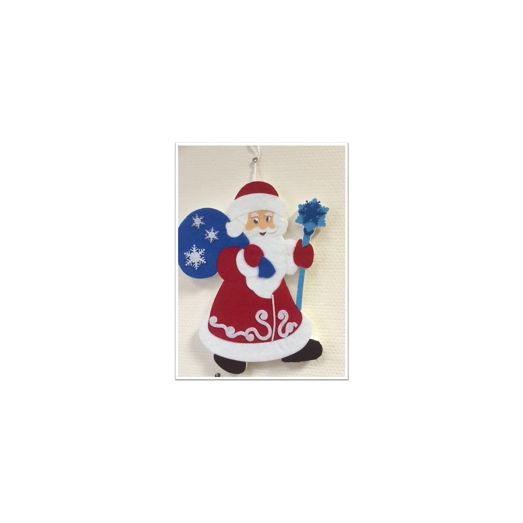 CENTRUM Набор для детского творчества Дед Мороз из фетра, высота 30 см набор для детского творчества набор веселая кондитерская 1 кг