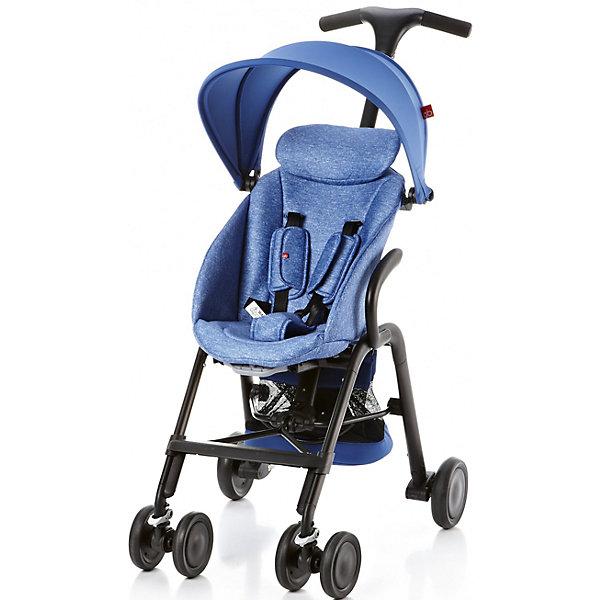 Прогулочная коляска GB T-BAR D330J, синийПрогулочные коляски<br>Коляска прогулочная T-BAR D330J, GB, синий<br><br>Характеристики:<br><br>- в набор входит: коляска, козырек <br>- материал: алюминий, текстиль, пластик<br>- колеса: EVA-резина и полиуретан<br>- размер разложенной коляски: 53 * 91 * 105 см.<br>- размер в сложенном виде: 53 * 40 * 91 см.<br>- вес коляски: 7,6 кг.<br><br>Надежная коляска от известного международного европейского бренда товаров для детей GB (ДжиБи) сделает прогулку с малышом комфортным приключением. Стильный дизайн и качественное исполнение позволят коляске прослужить много лет. Т-образная ручка обеспечивает наибольшую маневренность в городе и ее высота регулируется в три положения. Стильный козырек закрывает малыша от яркого солнца и удобно регулируется, давая возможность полностью закрыть малыша спереди. Спинка сидения регулируется в два положения, в которых малыш сможет немного отдохнуть, а мягкий регулирующийся подголовник добавит малышу комфорта. Прочные бесшумные двойные передние колеса поворачиваются (можно зафиксировать), задние колеса оснащены амортизацией, такое сочетание позволяет осуществить наибольшую проходимость и устойчивость коляски. Для удобства хранения и перемещения коляска легко складывается по принципу «книжка». Безопасность малыша обеспечивает пятиточечный ремень с мягкими накладками. Небольшая корзина коляски легка в доступе и позволит взять с собой самое необходимое на прогулку. С этой легкой и компактной коляской вы будете чувствовать себя уверенно как на прогулке, так и в магазине.<br><br>Коляску прогулочную T-BAR D330J, синий, GB (ДжиБи) можно купить в нашем интернет-магазине.<br><br>Ширина мм: 900<br>Глубина мм: 500<br>Высота мм: 300<br>Вес г: 9000<br>Цвет: синий<br>Возраст от месяцев: 6<br>Возраст до месяцев: 36<br>Пол: Унисекс<br>Возраст: Детский<br>SKU: 5176043