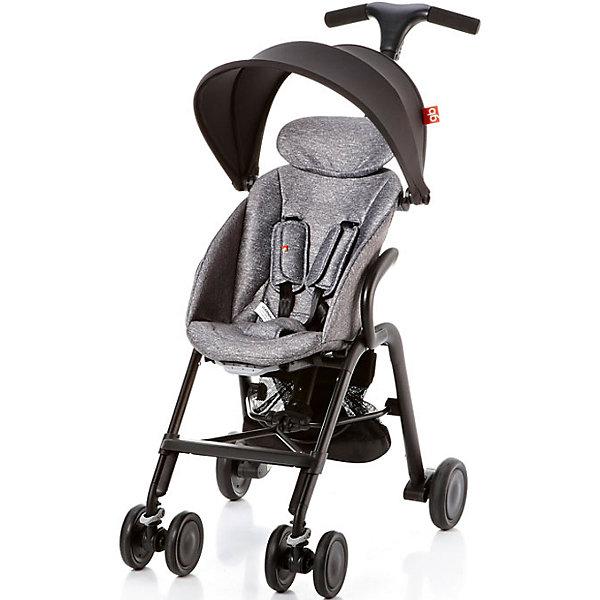 Прогулочная коляска GB T-BAR D330J, серыйПрогулочные коляски<br>Коляска прогулочная T-BAR D330J, GB, серый<br><br>Характеристики:<br><br>- в набор входит: коляска, козырек <br>- материал: алюминий, текстиль, пластик<br>- колеса: EVA-резина и полиуретан<br>- размер разложенной коляски: 53 * 91 * 105 см.<br>- размер в сложенном виде: 53 * 40 * 91 см.<br>- вес коляски: 7,6 кг.<br><br>Надежная коляска от известного международного европейского бренда товаров для детей GB (ДжиБи) сделает прогулку с малышом комфортным приключением. Стильный дизайн и качественное исполнение позволят коляске прослужить много лет. Т-образная ручка обеспечивает наибольшую маневренность в городе и ее высота регулируется в три положения. Стильный козырек закрывает малыша от яркого солнца и удобно регулируется, давая возможность полностью закрыть малыша спереди. Спинка сидения регулируется в два положения, в которых малыш сможет немного отдохнуть, а мягкий регулирующийся подголовник добавит малышу комфорта. Прочные бесшумные двойные передние колеса поворачиваются (можно зафиксировать), задние колеса оснащены амортизацией, такое сочетание позволяет осуществить наибольшую проходимость и устойчивость коляски. Для удобства хранения и перемещения коляска легко складывается по принципу «книжка». Безопасность малыша обеспечивает пятиточечный ремень с мягкими накладками. Небольшая корзина коляски легка в доступе и позволит взять с собой самое необходимое на прогулку. С этой легкой и компактной коляской вы будете чувствовать себя уверенно как на прогулке, так и в магазине.<br><br>Коляску прогулочную T-BAR D330J, серый, GB (ДжиБи) можно купить в нашем интернет-магазине.<br><br>Ширина мм: 900<br>Глубина мм: 500<br>Высота мм: 300<br>Вес г: 9000<br>Цвет: серый<br>Возраст от месяцев: 6<br>Возраст до месяцев: 36<br>Пол: Унисекс<br>Возраст: Детский<br>SKU: 5176044
