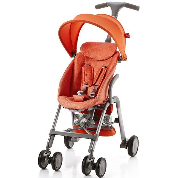 Прогулочная коляска GB T-BAR D330J, оранжевыйПрогулочные коляски<br>Коляска прогулочная T-BAR D330J, GB, оранжевый<br><br>Характеристики:<br><br>- в набор входит: коляска, козырек <br>- материал: алюминий, текстиль, пластик<br>- колеса: EVA-резина и полиуретан<br>- размер разложенной коляски: 53 * 91 * 105 см.<br>- размер в сложенном виде: 53 * 40 * 91 см.<br>- вес коляски: 7,6 кг.<br><br>Надежная коляска от известного международного европейского бренда товаров для детей GB (ДжиБи) сделает прогулку с малышом комфортным приключением. Стильный дизайн и качественное исполнение позволят коляске прослужить много лет. Т-образная ручка обеспечивает наибольшую маневренность в городе и ее высота регулируется в три положения. Стильный козырек закрывает малыша от яркого солнца и удобно регулируется, давая возможность полностью закрыть малыша спереди. Спинка сидения регулируется в два положения, в которых малыш сможет немного отдохнуть, а мягкий регулирующийся подголовник добавит малышу комфорта. Прочные бесшумные двойные передние колеса поворачиваются (можно зафиксировать), задние колеса оснащены амортизацией, такое сочетание позволяет осуществить наибольшую проходимость и устойчивость коляски. Для удобства хранения и перемещения коляска легко складывается по принципу «книжка». Безопасность малыша обеспечивает пятиточечный ремень с мягкими накладками. Небольшая корзина коляски легка в доступе и позволит взять с собой самое необходимое на прогулку. С этой легкой и компактной коляской вы будете чувствовать себя уверенно как на прогулке, так и в магазине.<br><br>Коляску прогулочную T-BAR D330J, оранжевый, GB (ДжиБи) можно купить в нашем интернет-магазине.<br><br>Ширина мм: 900<br>Глубина мм: 500<br>Высота мм: 300<br>Вес г: 9000<br>Цвет: оранжевый<br>Возраст от месяцев: 6<br>Возраст до месяцев: 36<br>Пол: Унисекс<br>Возраст: Детский<br>SKU: 5176045