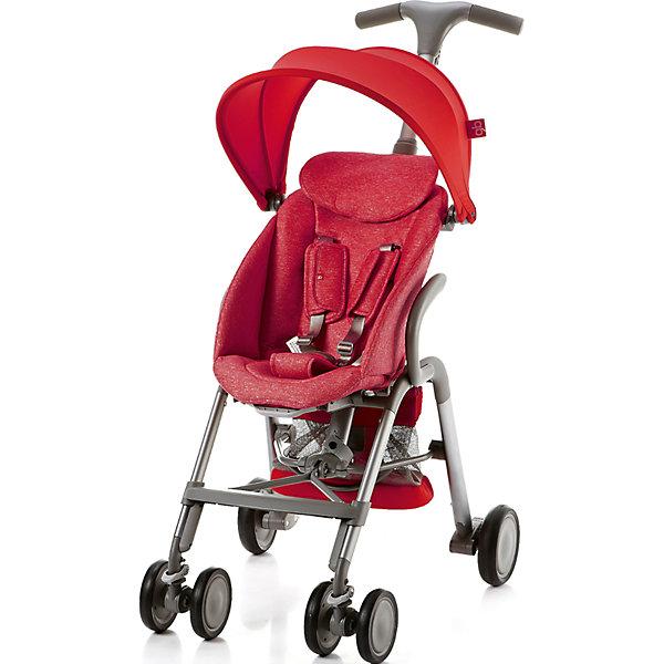 Прогулочная коляска GB T-BAR D330J, красныйПрогулочные коляски<br>Коляска прогулочная T-BAR D330J, GB, красный<br><br>Характеристики:<br><br>- в набор входит: коляска, козырек <br>- материал: алюминий, текстиль, пластик<br>- колеса: EVA-резина и полиуретан<br>- размер разложенной коляски: 53 * 91 * 105 см.<br>- размер в сложенном виде: 53 * 40 * 91 см.<br>- вес коляски: 7,6 кг.<br><br>Надежная коляска от известного международного европейского бренда товаров для детей GB (ДжиБи) сделает прогулку с малышом комфортным приключением. Стильный дизайн и качественное исполнение позволят коляске прослужить много лет. Т-образная ручка обеспечивает наибольшую маневренность в городе и ее высота регулируется в три положения. Стильный козырек закрывает малыша от яркого солнца и удобно регулируется, давая возможность полностью закрыть малыша спереди. Спинка сидения регулируется в два положения, в которых малыш сможет немного отдохнуть, а мягкий регулирующийся подголовник добавит малышу комфорта. Прочные бесшумные двойные передние колеса поворачиваются (можно зафиксировать), задние колеса оснащены амортизацией, такое сочетание позволяет осуществить наибольшую проходимость и устойчивость коляски. Для удобства хранения и перемещения коляска легко складывается по принципу «книжка». Безопасность малыша обеспечивает пятиточечный ремень с мягкими накладками. Небольшая корзина коляски легка в доступе и позволит взять с собой самое необходимое на прогулку. С этой легкой и компактной коляской вы будете чувствовать себя уверенно как на прогулке, так и в магазине.<br><br>Коляску прогулочную T-BAR D330J, красный, GB (ДжиБи) можно купить в нашем интернет-магазине.<br><br>Ширина мм: 900<br>Глубина мм: 500<br>Высота мм: 300<br>Вес г: 9000<br>Цвет: красный<br>Возраст от месяцев: 6<br>Возраст до месяцев: 36<br>Пол: Унисекс<br>Возраст: Детский<br>SKU: 5176046