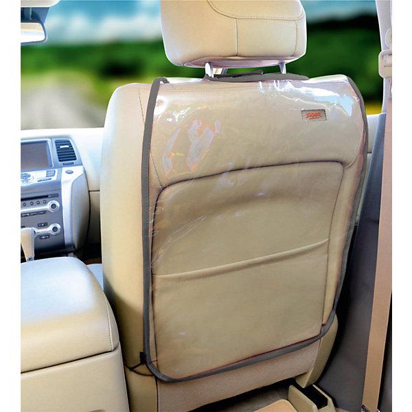 Накидка защитная на спинку сиденья SAFE-3, Siger, прозрачнаяАксессуары для автокресел<br>Накидка защитная на спинку сиденья SAFE-3, Siger, прозрачная<br><br>Характеристики:<br><br>- материал: поливинилхлорид<br>- крепления: брезентовые ремни на липучках, эластичный регулируемый шнурок <br>- размер: 60 * 45 см.<br>- размер упаковки: 19 * 3 * 19 см.<br>- вес: 200 гр.<br><br>Практичная защитная накидка на спинку сиденья автомобиля от российского бренда Siger (Сайгер) станет незаменимым аксессуаром в поездке. Непромокаемый материал защищает обивку сиденья от озорных ножек малыша, загрязнений, царапин и прочих неприятностей. Накидку легко закрепить с помощью липучек и надежных ремней. Прозрачный цвет накидки отлично подойдет к любому салону и будет смотреться аккуратно и стильно. Теперь каждая поездка будет отлично организована и лишена стрессов по поводу трудновыводимых загрязнений автомобиля.<br><br>Накидку защитную на спинку сиденья SAFE-3, прозрачную, Siger (Сайгер) можно купить в нашем интернет-магазине.<br><br>Ширина мм: 250<br>Глубина мм: 220<br>Высота мм: 50<br>Вес г: 300<br>Возраст от месяцев: 0<br>Возраст до месяцев: 36<br>Пол: Унисекс<br>Возраст: Детский<br>SKU: 5176652