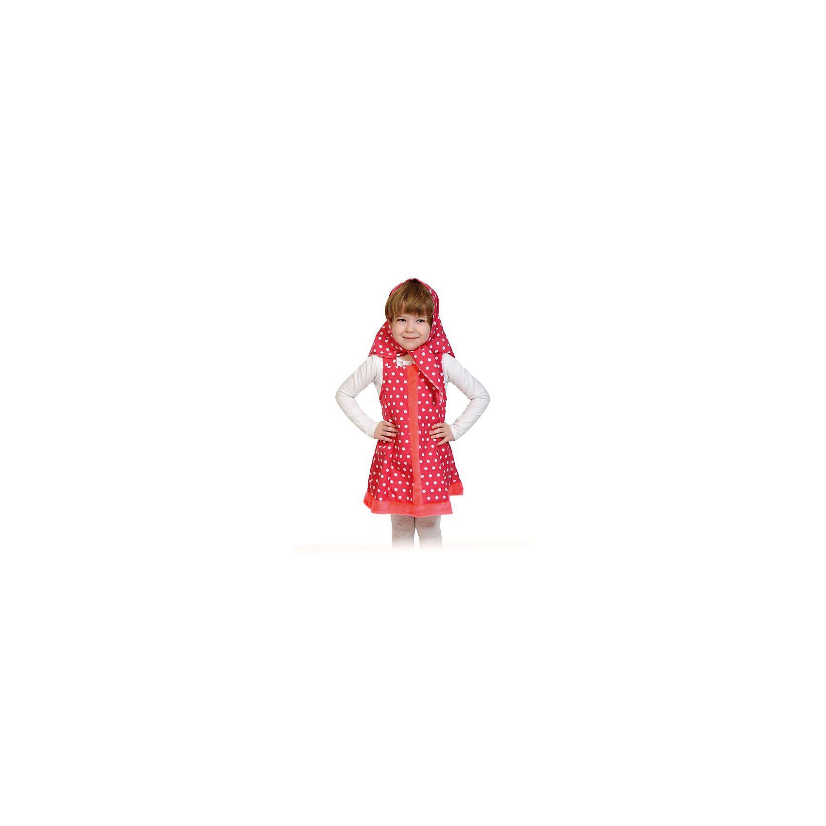 Костюм Машенька, рост 100-125, КарнавалоффКарнавальные костюмы и аксессуары<br>Характеристики товара:<br><br>• цвет: красный<br>• комплектация: платок, платье<br>• материал: текстиль<br>• для праздников и постановок<br>• упаковка: пакет<br>• возраст: от 3 лет<br>• страна бренда: Российская Федерация<br>• страна изготовитель: Российская Федерация<br><br>Новогодние праздники - отличная возможность перевоплотиться в кого угодно, надев маскарадный костюм. Этот набор позволит ребенку мгновенно превратиться в Машеньку!<br>Он состоит из двух предметов, которые подойдут дошкольникам и младшим школьникам - костюм рассчитан на рост от 100 см до 125 см. Изделия удобно сидят и позволяют ребенку наслаждаться праздником или принимать участие в постановке. Модель хорошо проработана, сшита из качественных и проверенных материалов, которые безопасны для детей.<br><br>Костюм Машенька, рост 100-125, от бренда Карнавалофф можно купить в нашем интернет-магазине.<br><br>Ширина мм: 280<br>Глубина мм: 190<br>Высота мм: 40<br>Вес г: 194<br>Возраст от месяцев: 60<br>Возраст до месяцев: 120<br>Пол: Женский<br>Возраст: Детский<br>SKU: 5177203