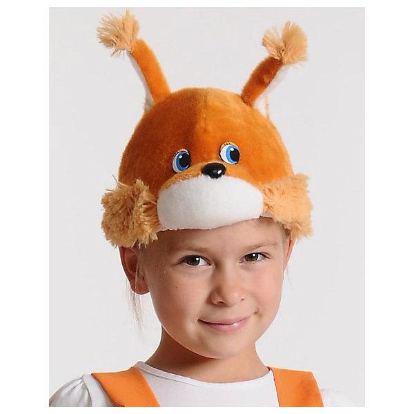 Маска Белочка/ Бельчонок, КарнавалоффДетские шляпы и колпаки<br>Характеристики товара:<br><br>• цвет: рыжий<br>• комплектация: шапочка<br>• материал: текстиль, плюш<br>• для праздников и постановок<br>• размер: 53-55<br>• упаковка: пакет<br>• возраст: от 3 лет<br>• страна бренда: Российская Федерация<br>• страна изготовитель: Российская Федерация<br><br>Новогодние праздники - отличная возможность перевоплотиться в кого угодно, надев маскарадный костюм. Эта маска позволит ребенку мгновенно превратиться в симпатичную белочку!<br>Она сделана в виде шапочки, которая подойдет дошкольникам и младшим школьникам - изделие рассчитано на размер 53-55. Такие маски удобно сидят и позволяют ребенку наслаждаться праздником или принимать участие в постановке. Модель хорошо проработана, сшита из качественных и проверенных материалов, которые безопасны для детей.<br><br>Маску Белочка/ Бельчонок от бренда Карнавалофф можно купить в нашем интернет-магазине.<br><br>Ширина мм: 200<br>Глубина мм: 270<br>Высота мм: 20<br>Вес г: 65<br>Возраст от месяцев: 60<br>Возраст до месяцев: 120<br>Пол: Женский<br>Возраст: Детский<br>SKU: 5177206