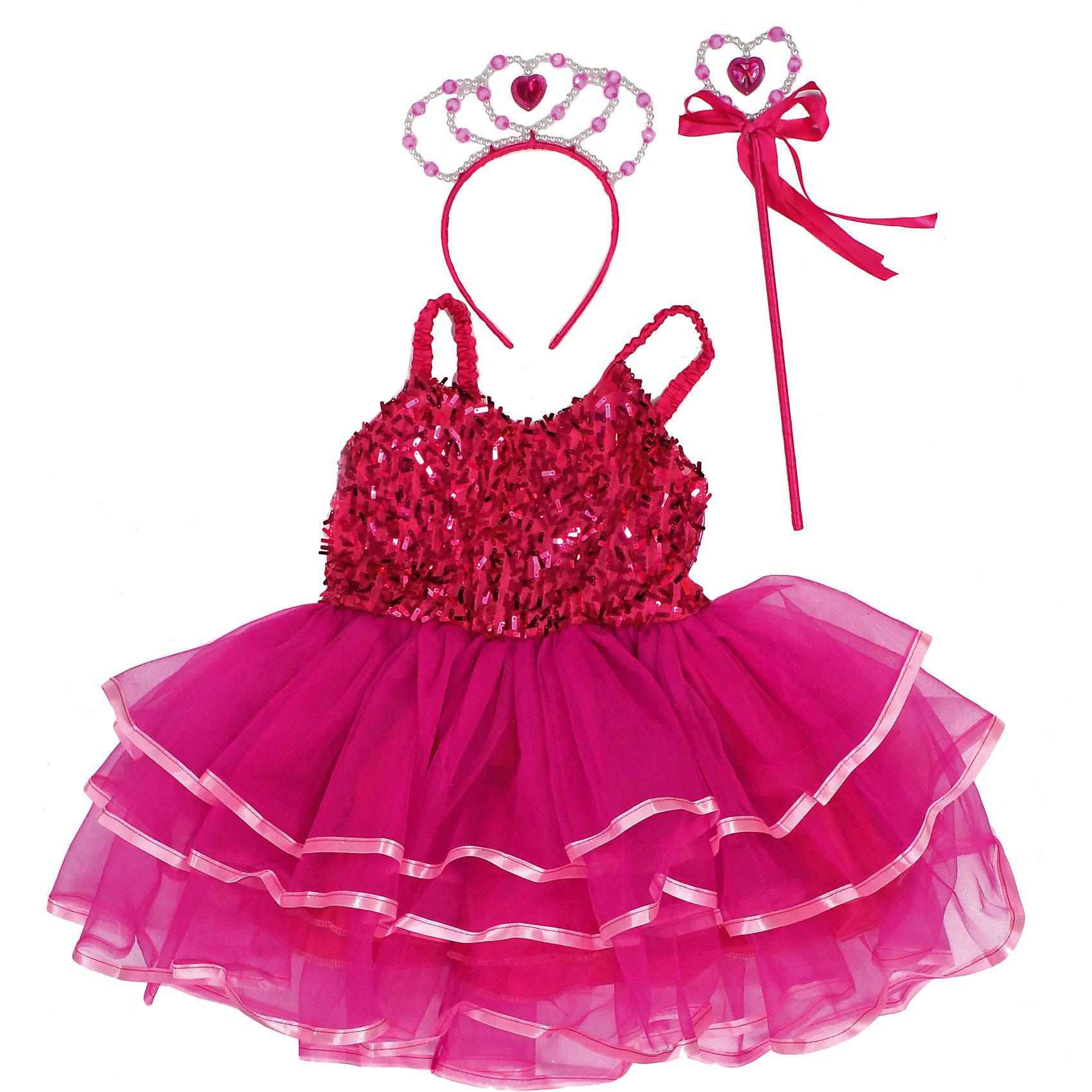 Костюм Дюймовочка, Новогодняя сказкаХарактеристики товара:<br><br>• цвет: розовый<br>• комплектация: платье, ободок, волшебная палочка<br>• материал: текстиль, пластик<br>• для праздников и постановок<br>• упаковка: пакет<br>• длина платья: 50 см<br>• возраст: от 3 лет<br>• страна бренда: Российская Федерация<br>• страна изготовитель: Российская Федерация<br><br>Новогодние праздники - отличная возможность перевоплотиться в кого угодно, надев маскарадный костюм. Этот набор позволит ребенку мгновенно превратиться в Дюймовочку!<br>Он состоит из нескольких предметов, которые подойдут дошкольникам. Изделия удобно сидят и позволяют ребенку наслаждаться праздником или принимать участие в постановке. Модель хорошо проработана, сшита из качественных и проверенных материалов, которые безопасны для детей.<br><br>Костюм Дюймовочка от бренда Новогодняя сказка можно купить в нашем интернет-магазине.<br><br>Ширина мм: 380<br>Глубина мм: 600<br>Высота мм: 20<br>Вес г: 220<br>Возраст от месяцев: 36<br>Возраст до месяцев: 96<br>Пол: Женский<br>Возраст: Детский<br>SKU: 5177222