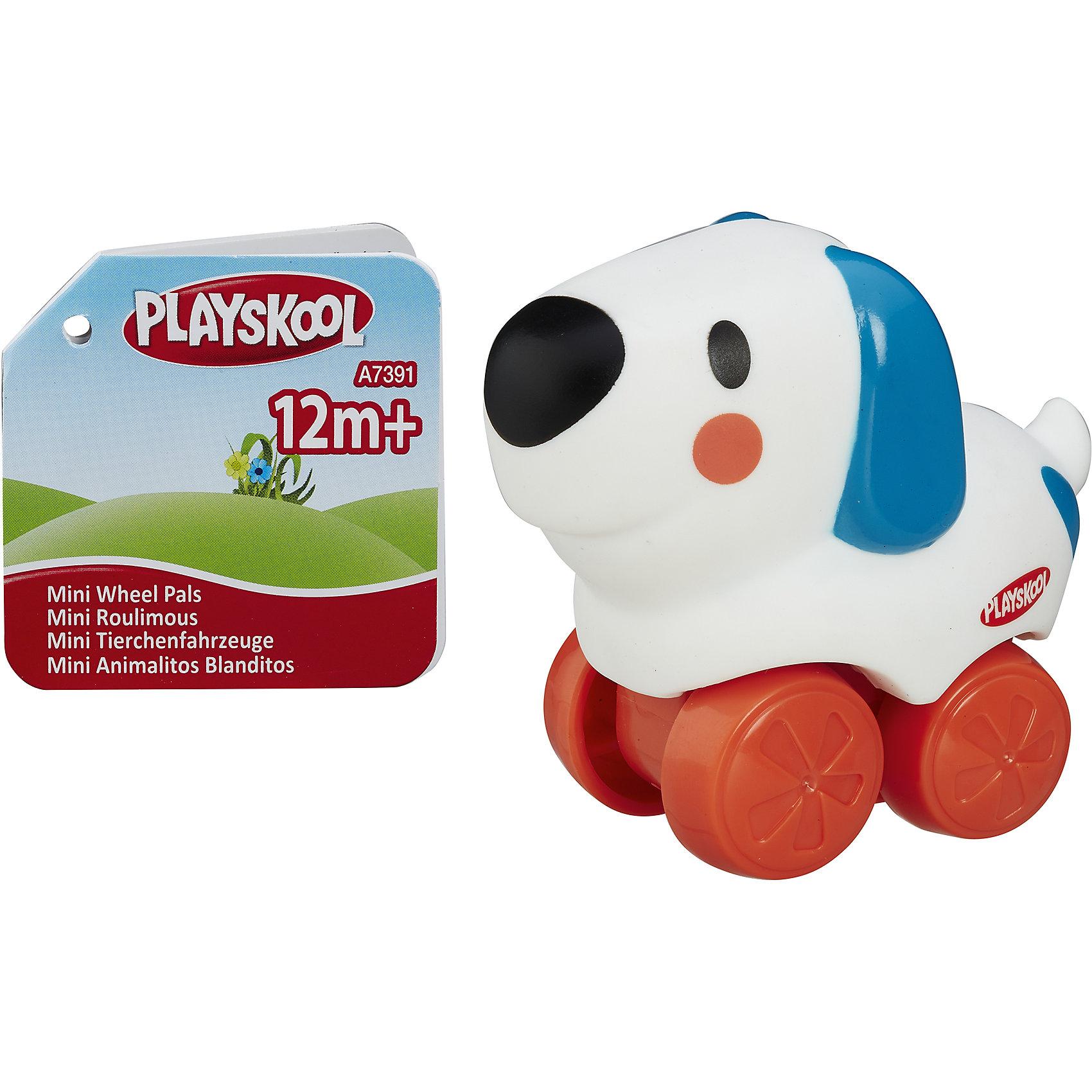 Веселые мини-животные Возьми с собой: Собачка, PLAYSKOOLИгрушки-каталки<br>Веселые мини-животные Возьми с собой, PLAYSKOOL, 4845/A7391<br><br>Характеристики:<br><br>• Цвет: белый, красный<br>• Игрушка: собачка<br>• Каталка на колесиках<br>• Материал: пластик<br><br>Миниатюрная каталка в виде животного подарит малышу море радости и позитива. Сделана игрушка из качественного материала, который не вредит ребенку. Игрушку легко мыть, она не тускнеет и не портится от длительного использования. Такая игрушка сможет развить мелкую моторику рук, благодаря плотному, но не жесткому материалу.<br><br>Веселые мини-животные Возьми с собой, PLAYSKOOL, 4845/A7391 можно купить в нашем интернет-магазине.<br><br>Ширина мм: 76<br>Глубина мм: 54<br>Высота мм: 72<br>Вес г: 54<br>Возраст от месяцев: 12<br>Возраст до месяцев: 36<br>Пол: Унисекс<br>Возраст: Детский<br>SKU: 5177788