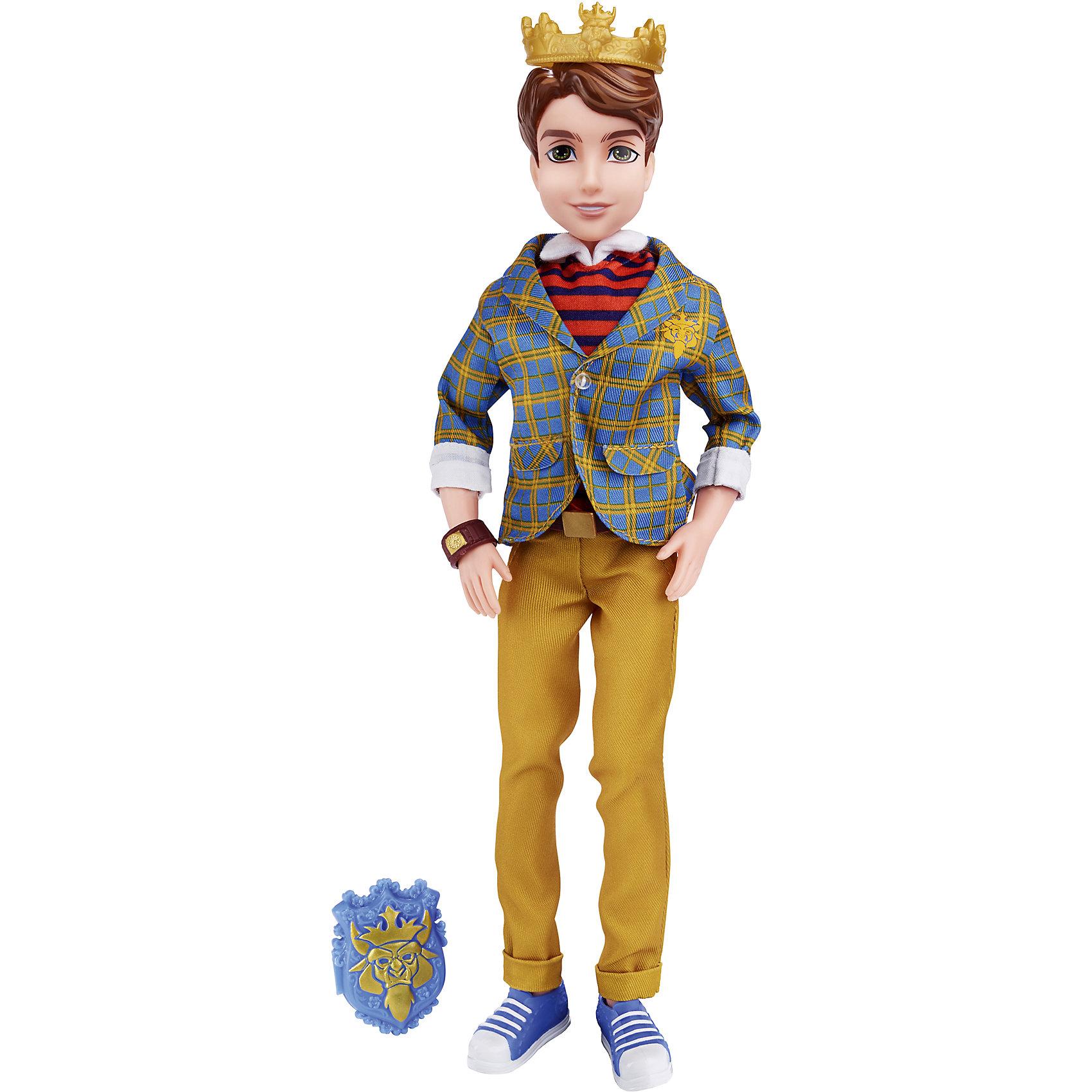 Кукла Бен, Светлые  герои, НаследникиИгрушки<br>Кукла Светлые герои, Наследники, B5851/B3116<br><br>Характеристики:<br><br>• Высота: 29см<br>• Вес: 273 г<br>• В комплекте: кукла, аксессуары, одежда<br>• Материал: пластик, текстиль<br><br>Кукла из популярного нового мультфильма «Наследники» понравится любой юной поклоннице. Сделана кукла из качественного материала, который не только не вредит ребенку, но еще и очень прочный. В комплекте с куколкой идут ее наряд и аксессуары, которые позволят создать собственный, неповторимый образ. Благодаря тому, что конечности куклы подвижные и гибкие, а волосы легко расчесываются – игра станет настоящей. <br><br>Кукла Светлые герои, Наследники, B5851/B3116 можно купить в нашем интернет-магазине.<br><br>Ширина мм: 76<br>Глубина мм: 54<br>Высота мм: 72<br>Вес г: 54<br>Возраст от месяцев: 12<br>Возраст до месяцев: 36<br>Пол: Женский<br>Возраст: Детский<br>SKU: 5177789