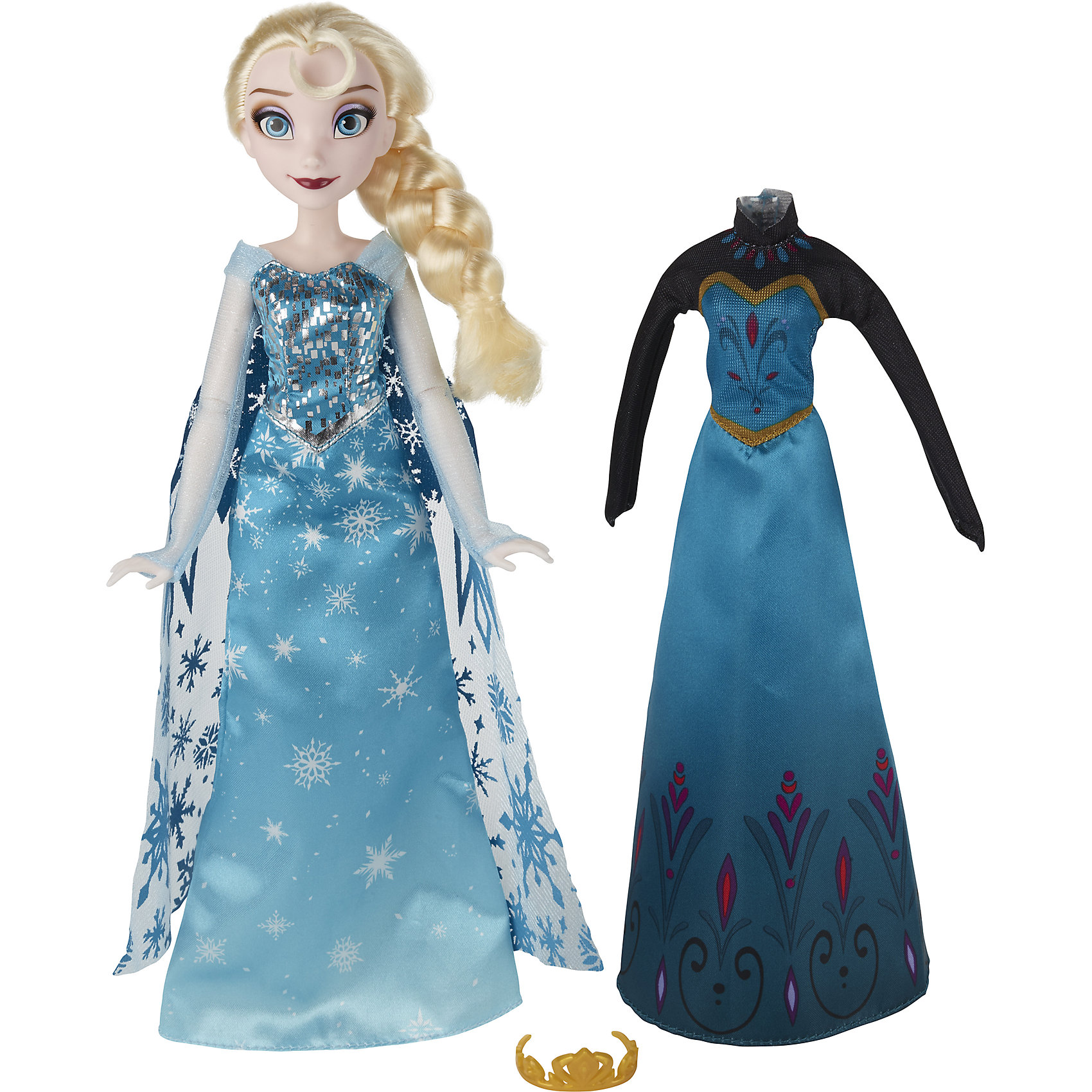 Hasbro Кукла Эльза, со сменным нарядом, Холодное сердце hasbro модная кукла принцесса в юбке с проявляющимся принтом принцессы дисней b5295 b5299