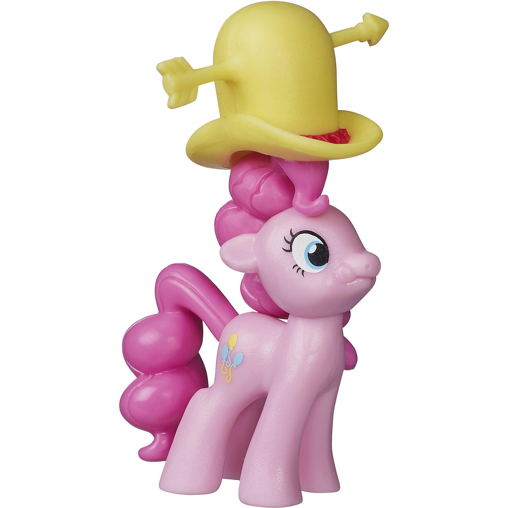 Коллекционная пони Пинки Пай, My little PonyКоллекционная пони, My little Pony (Май литтл пони).<br><br>Характеристики:<br><br>• Материал: пластик.<br>• Размер фигурки: 5см.<br>• Цвет: розовый.<br><br>Коллекционная пони, My little Pony (Май литтл пони)сделана по мотивам популярного мультсериала My Little Pony. Это  малышка Пинки Пай - главная героиня знаменитого мультфильма.  Игрушка выполнена с большим вниманием к деталям, отличается красивой расцветкой и существенным сходством со своим анимационным прототипом. У крошки  Пинки  Пай  есть забавная желтая шляпа, которая легко снимается.  Ваша девочка будет рада получить в подарок такую игрушку.<br><br>Коллекционную пони, My little Pony (Май литтл пони), можно купить в нашем интернет – магазине.<br><br>Ширина мм: 119<br>Глубина мм: 103<br>Высота мм: 30<br>Вес г: 23<br>Возраст от месяцев: 48<br>Возраст до месяцев: 72<br>Пол: Женский<br>Возраст: Детский<br>SKU: 5177793