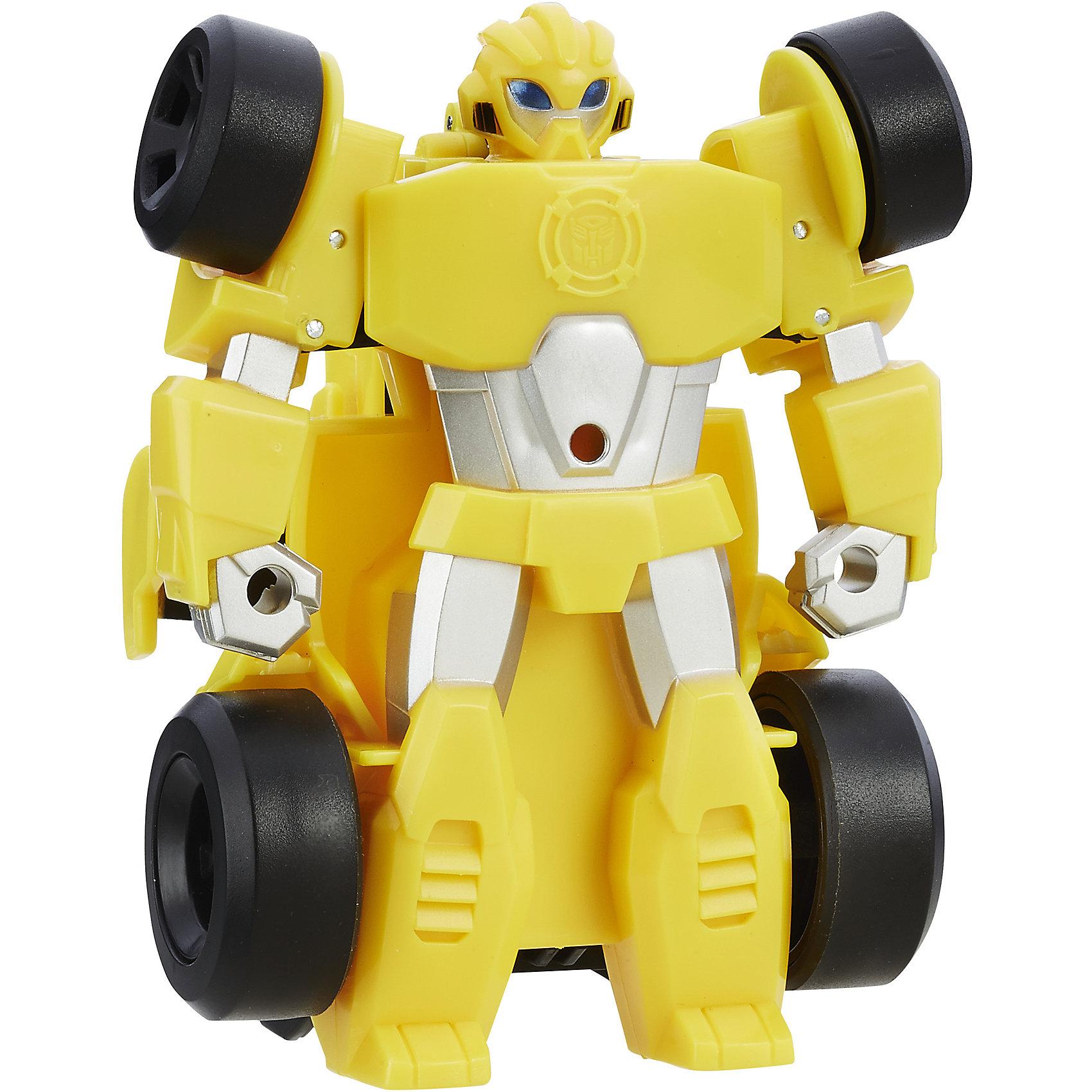 Спасатели: гоночная машинка Бамблби, ТрансформерыИгрушки<br>Спасатели: гоночные машинки, Трансформеры.<br><br>Характеристики:<br><br>• Машинка трансформер.<br>• Цвет: желтый.<br>• Материал: пластик.<br>• Размер: 15см.<br>• Размер упаковки: 20х25х8см.<br><br>Спасатели помогут вам в любой беде! Несколько движений рук и робот превратится в супер-быстрый спортивный автомобиль Формулы -1. А когда это необходимо, снова превратиться в робота! Такая игрушка развивает воображение вашего ребенка, а также развивает мелкую моторику детских ручек.<br><br>Спасателей: гоночные машинки, Трансформеры, можно купить в нашем интернет – магазине.<br><br>Ширина мм: 185<br>Глубина мм: 185<br>Высота мм: 210<br>Вес г: 320<br>Возраст от месяцев: 36<br>Возраст до месяцев: 192<br>Пол: Мужской<br>Возраст: Детский<br>SKU: 5177801