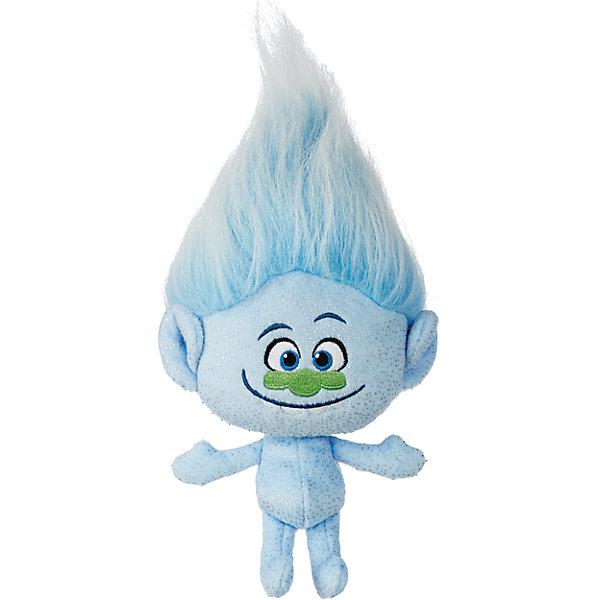 Мягкая игрушка Алмаз, ТроллиИгрушки<br>Тролли из плюша – Алмаз (Даймонд).<br><br>Характеристики:<br><br>• Комплект: фигурка тролля.<br>• Материал: плюш.<br>• Размер игрушки – 28 см.<br><br>Тролли из плюша от торговой марки Hasbro созданы по мотивам известного мультипликационного фильма  Trolls.  Милые крошечные существа живут в чудесном мире танцев, песен и обнимашек. У них очаровательные мордашки с круглыми глазками и разноцветные яркие волосы. Тролль из плюша Алмаз очень милый . Мягкая кукла с забавными длинными голубыми волосами, которые зачесаны кверху, станет отличным подарком для вашего ребенка. Он сможет самостоятельно расчесать их, а также сделать всевозможные прически. Игрушка выполнена из качественных материалов - текстиля и плюша. Собери всю коллекцию троллей!<br><br>Тролля из плюша – Алмаз (Даймонд), можно купить в нашем интернет - магазине.<br><br>Ширина мм: 70<br>Глубина мм: 165<br>Высота мм: 356<br>Вес г: 268<br>Возраст от месяцев: 48<br>Возраст до месяцев: 96<br>Пол: Унисекс<br>Возраст: Детский<br>SKU: 5177814