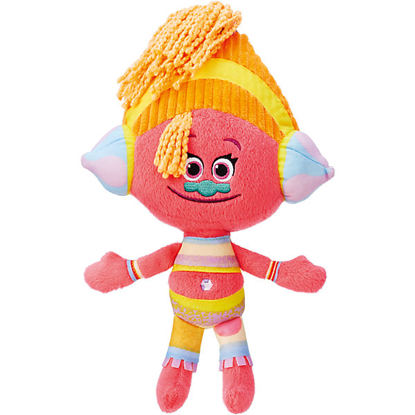 Мягкая игрушка DJ Звуки, ТроллиМягкие игрушки из мультфильмов<br>Тролли из плюша – Диджей Звуки.<br><br>Характеристики:<br><br>• Комплект: фигурка тролля.<br>• Материал: плюш.<br>• Размер игрушки – 28 см.<br><br>Тролли из плюша от торговой марки Hasbro созданы по мотивам известного мультипликационного фильма  Trolls.  Милые крошечные существа живут в чудесном мире танцев, песен и обнимашек. У них очаровательные мордашки с круглыми глазками и разноцветные яркие волосы. Тролль из плюша Диджей Звуки очень милая. Этот тролль является диджеем, поэтому его голову украшают стильные дреды и шапочка, а на ушах закреплены стилизованные наушники. Игрушка выполнена из качественных материалов - текстиля и плюша. Собери всю коллекцию троллей!<br><br>Тролля из плюша – Диджей Звуки, можно купить в нашем интернет - магазине.<br><br>Ширина мм: 70<br>Глубина мм: 165<br>Высота мм: 356<br>Вес г: 268<br>Возраст от месяцев: 48<br>Возраст до месяцев: 96<br>Пол: Унисекс<br>Возраст: Детский<br>SKU: 5177815