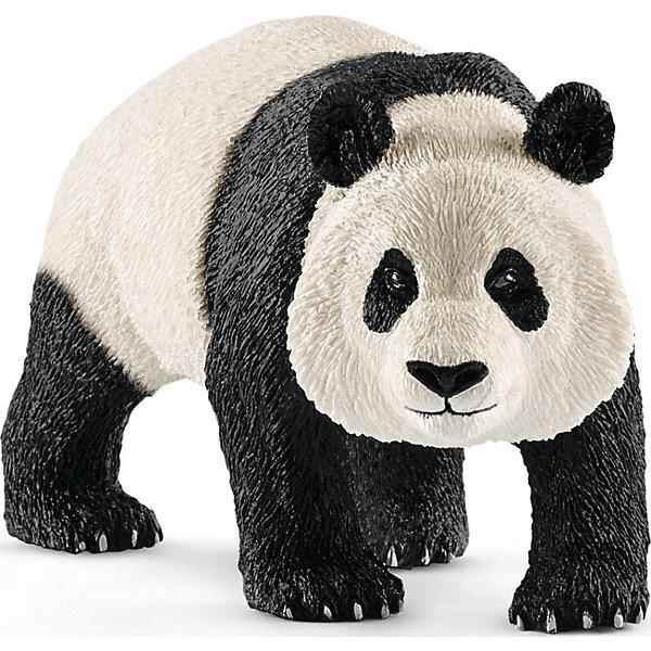 Гигантская панда, самецМир животных<br>Характеристики:<br><br>• возраст: от 3 лет;<br>• материал: каучуковый пластик;<br>• размер игрушки: 10х5х3,5 см;<br>• вес упаковки: 100 гр.;<br>• размер упаковки: 10х5х3,5 см;<br>• страна бренда: Германия.<br><br>Фигурка от бренда Schleich – детализированная копия самца гигантской панды. Фигурка с точностью передает особенности строения тела животного, внешний вид шерсти, характерную позу. Высокая реалистичность – результат регулярного сотрудничества с Берлинским зоопарком.<br><br>В изготовлении каждой фигурки «Шляйх» учитываются рекомендации педагогов для того, чтобы игрушка была интересна и полезна ребенку, комфортно располагалась в руках. Фигурка раскрашена вручную, сделана из прочных безопасных материалов, не вызывающих аллергию.<br><br>Фигурка подойдет для сюжетно-ролевых игр, а также может стать частью большой коллекции реалистичных копий животных Schleich.<br><br>Фигурку Schleich Гигантская панда, самец можно купить в нашем интернет-магазине.<br>Ширина мм: 99; Глубина мм: 68; Высота мм: 44; Вес г: 90; Возраст от месяцев: 36; Возраст до месяцев: 96; Пол: Унисекс; Возраст: Детский; SKU: 5178097;