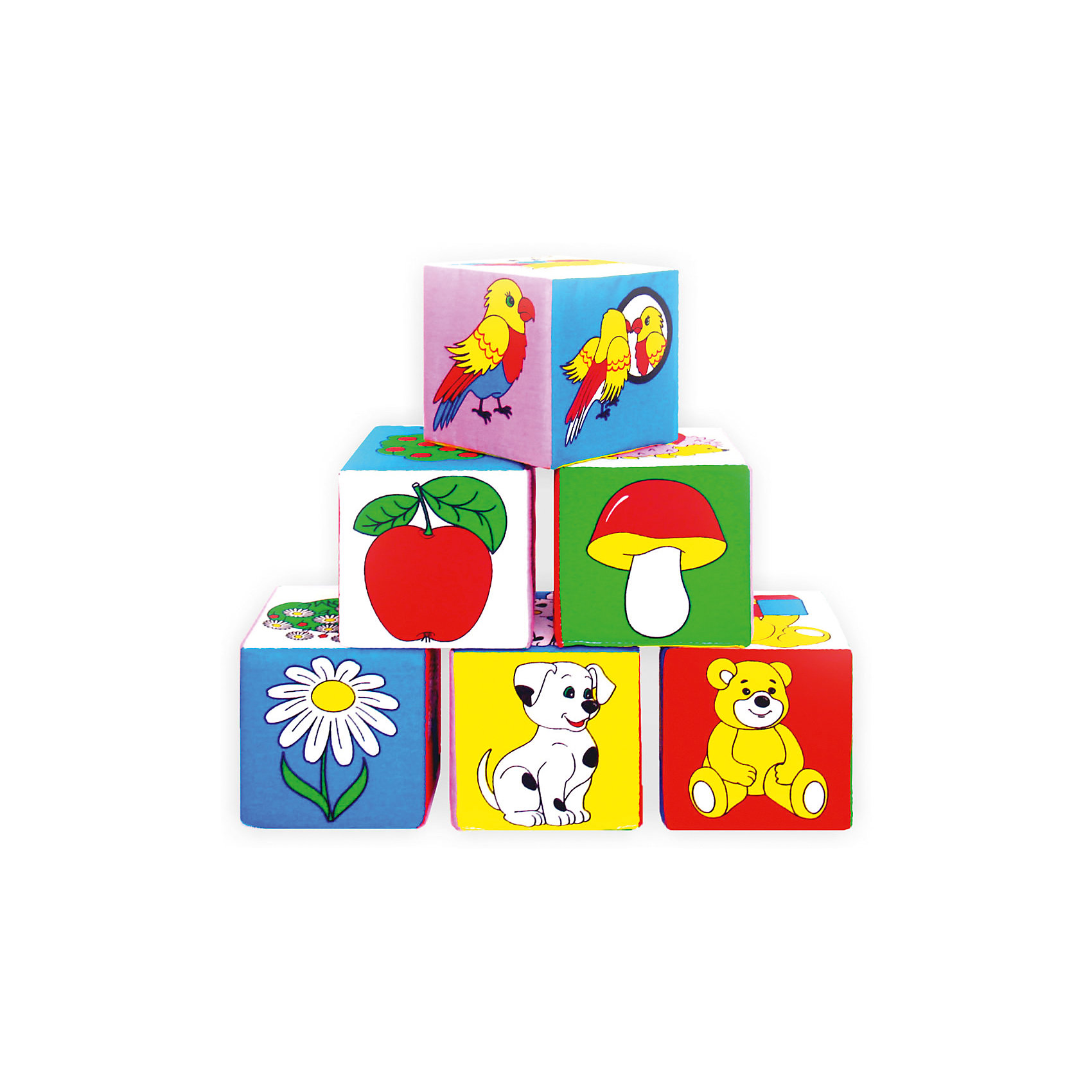 Кубики Предметы, МякишиМягкие игрушки<br>Характеристики товара:<br><br>• материал: хлопок, поролон<br>• комплектация: 6 шт<br>• размер кубика: 10х10х10 см<br>• размер упаковки: 31x23x11 см<br>• развивающая игрушка<br>• упаковка: пакет<br>• вес: 195 г<br>• страна бренда: РФ<br>• страна изготовитель: РФ<br><br>Малыши активно познают мир и тянутся к новой информации. Чтобы сделать процесс изучения окружающего пространства интереснее, ребенку можно подарить развивающие игрушки. В процессе игры информация усваивается намного лучше!<br>Такие кубики помогут занять малыша, играть ими приятно и весело. Одновременно они позволят познакомиться со многими предметами, которые ребенку предстоит встретить. Такие игрушки развивают тактильные ощущения, моторику, цветовосприятие, логику, воображение, учат фокусировать внимание. Каждое изделие абсолютно безопасно – оно создано из качественной ткани с мягким наполнителем. Игрушки производятся из качественных и проверенных материалов, которые безопасны для детей.<br><br>Кубики Предметы от бренда Мякиши можно купить в нашем интернет-магазине.<br><br>Ширина мм: 200<br>Глубина мм: 100<br>Высота мм: 300<br>Вес г: 80<br>Возраст от месяцев: 12<br>Возраст до месяцев: 36<br>Пол: Унисекс<br>Возраст: Детский<br>SKU: 5183157