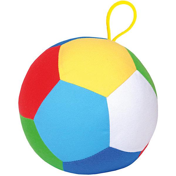 Мячик Футбол, МякишиТрансформеры-игрушки<br>Характеристики товара:<br><br>• цвет: разноцветный<br>• материал: трикотаж, холлофайбер<br>• комплектация: 1 шт<br>• размер игрушки: 17 см<br>• размер упаковки: 17 см<br>• развивающая игрушка<br>• упаковка: пакет<br>• страна бренда: РФ<br>• страна изготовитель: РФ<br><br>Малыши активно познают мир и тянутся к новой информации. Чтобы сделать процесс изучения окружающего пространства интереснее, ребенку можно подарить развивающие игрушки. В процессе игры информация усваивается намного лучше!<br>Такие мячики помогут занять малыша, играть ими приятно и весело. Одновременно они позволят познакомиться с разными цветами и геометрическими формами. Такие игрушки развивают тактильные ощущения, моторику, цветовосприятие, логику, воображение, учат фокусировать внимание. Каждое изделие абсолютно безопасно – оно создано из качественной ткани с мягким наполнителем. Игрушки производятся из качественных и проверенных материалов, которые безопасны для детей.<br><br>Мячик Футбол от бренда Мякиши можно купить в нашем интернет-магазине.<br>Ширина мм: 180; Глубина мм: 180; Высота мм: 180; Вес г: 90; Возраст от месяцев: 12; Возраст до месяцев: 36; Пол: Унисекс; Возраст: Детский; SKU: 5183160;