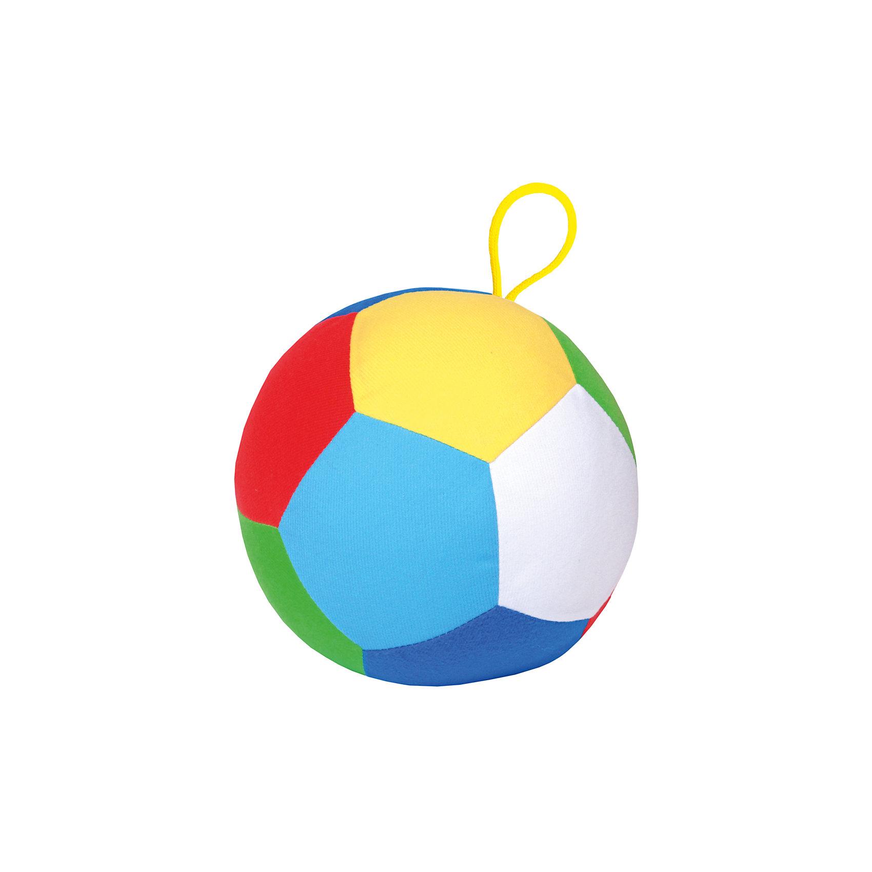 Мячик Футбол, МякишиМягкие игрушки<br>Характеристики товара:<br><br>• цвет: разноцветный<br>• материал: трикотаж, холлофайбер<br>• комплектация: 1 шт<br>• размер игрушки: 17 см<br>• размер упаковки: 17 см<br>• развивающая игрушка<br>• упаковка: пакет<br>• страна бренда: РФ<br>• страна изготовитель: РФ<br><br>Малыши активно познают мир и тянутся к новой информации. Чтобы сделать процесс изучения окружающего пространства интереснее, ребенку можно подарить развивающие игрушки. В процессе игры информация усваивается намного лучше!<br>Такие мячики помогут занять малыша, играть ими приятно и весело. Одновременно они позволят познакомиться с разными цветами и геометрическими формами. Такие игрушки развивают тактильные ощущения, моторику, цветовосприятие, логику, воображение, учат фокусировать внимание. Каждое изделие абсолютно безопасно – оно создано из качественной ткани с мягким наполнителем. Игрушки производятся из качественных и проверенных материалов, которые безопасны для детей.<br><br>Мячик Футбол от бренда Мякиши можно купить в нашем интернет-магазине.<br><br>Ширина мм: 180<br>Глубина мм: 180<br>Высота мм: 180<br>Вес г: 90<br>Возраст от месяцев: 12<br>Возраст до месяцев: 36<br>Пол: Унисекс<br>Возраст: Детский<br>SKU: 5183160