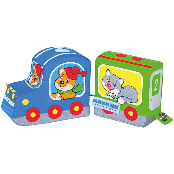 Подвижный паровозик Времена года, МякишиКонструкторы для малышей<br>Характеристики товара:<br><br>• материал: текстиль<br>• комплектация: 1 шт<br>• размер игрушки: 17х40хсм<br>• развивающая игрушка<br>• разнофактурный материал<br>• упаковка: пакет<br>• вагоны на кнопках<br>• страна бренда: РФ<br>• страна изготовитель: РФ<br><br>Малыши активно познают мир и тянутся к новой информации. Чтобы сделать процесс изучения окружающего пространства интереснее, ребенку можно подарить развивающие игрушки. В процессе игры информация усваивается намного лучше!<br>Такие игрушки помогут занять малыша, играть с ними приятно и весело. Игрушка дополнена вагонами на кнопках. С ней можно разыграть множество сюжетов! Одновременно она позволит познакомиться с разными цветами и фактурами, а тапкже с временами года. Такие игрушки развивают тактильные ощущения, моторику, цветовосприятие, логику, воображение, учат фокусировать внимание. Каждое изделие абсолютно безопасно – оно создано из качественной ткани с мягким наполнителем. Игрушки производятся из качественных и проверенных материалов, которые безопасны для детей.<br><br>Подвижный паровозик Времена года от бренда Мякиши можно купить в нашем интернет-магазине.<br>Ширина мм: 450; Глубина мм: 100; Высота мм: 60; Вес г: 50; Возраст от месяцев: 12; Возраст до месяцев: 36; Пол: Мужской; Возраст: Детский; SKU: 5183171;