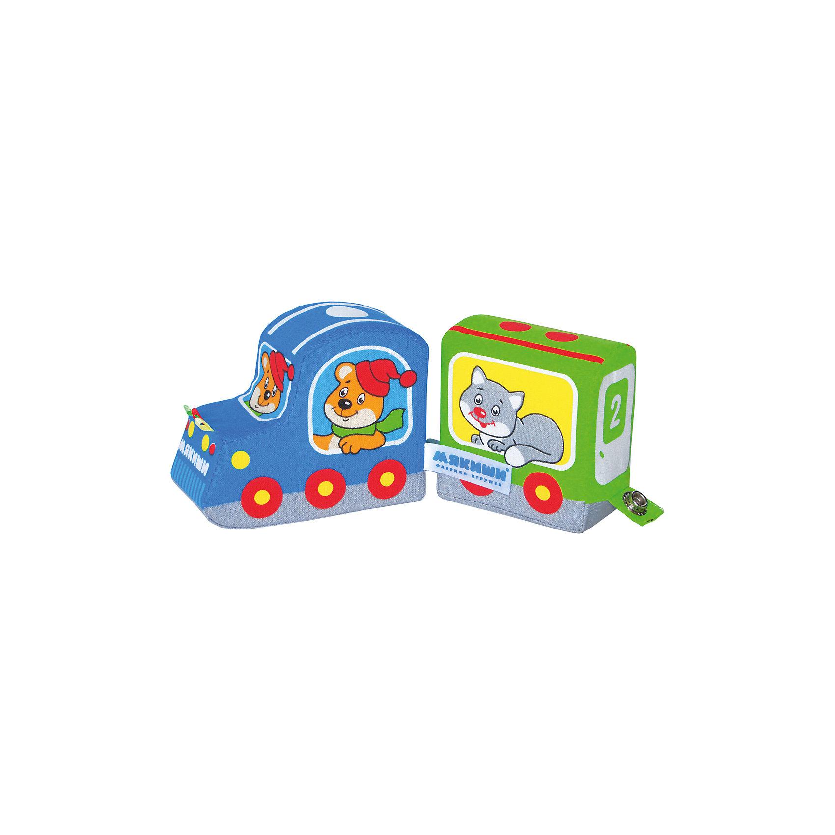 Подвижный паровозик Времена года, МякишиМягкие игрушки<br>Характеристики товара:<br><br>• материал: текстиль<br>• комплектация: 1 шт<br>• размер игрушки: 17х40хсм<br>• развивающая игрушка<br>• разнофактурный материал<br>• упаковка: пакет<br>• вагоны на кнопках<br>• страна бренда: РФ<br>• страна изготовитель: РФ<br><br>Малыши активно познают мир и тянутся к новой информации. Чтобы сделать процесс изучения окружающего пространства интереснее, ребенку можно подарить развивающие игрушки. В процессе игры информация усваивается намного лучше!<br>Такие игрушки помогут занять малыша, играть с ними приятно и весело. Игрушка дополнена вагонами на кнопках. С ней можно разыграть множество сюжетов! Одновременно она позволит познакомиться с разными цветами и фактурами, а тапкже с временами года. Такие игрушки развивают тактильные ощущения, моторику, цветовосприятие, логику, воображение, учат фокусировать внимание. Каждое изделие абсолютно безопасно – оно создано из качественной ткани с мягким наполнителем. Игрушки производятся из качественных и проверенных материалов, которые безопасны для детей.<br><br>Подвижный паровозик Времена года от бренда Мякиши можно купить в нашем интернет-магазине.<br><br>Ширина мм: 450<br>Глубина мм: 100<br>Высота мм: 60<br>Вес г: 50<br>Возраст от месяцев: 12<br>Возраст до месяцев: 36<br>Пол: Мужской<br>Возраст: Детский<br>SKU: 5183171