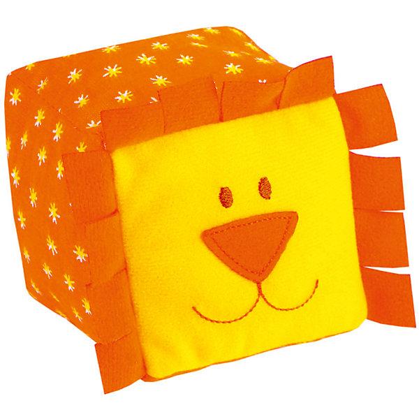 Кубики ЗооМякиши Львенок, МякишиФигурки из мультфильмов<br>Характеристики товара:<br><br>• материал: трикотаж, холлофайбер<br>• комплектация: 1 шт<br>• размер игрушки: 8х8 см<br>• звуковой элемент<br>• развивающая игрушка<br>• упаковка: пакет<br>• страна бренда: РФ<br>• страна изготовитель: РФ<br><br>Малыши активно познают мир и тянутся к новой информации. Чтобы сделать процесс изучения окружающего пространства интереснее, ребенку можно подарить развивающие игрушки. В процессе игры информация усваивается намного лучше!<br>Такие кубики помогут занять малыша, играть ими приятно и весело. Одновременно они позволят познакомиться со многими цветами, фактурами, а также научить извлекать звук. Такие игрушки развивают тактильные ощущения, моторику, цветовосприятие, логику, воображение, учат фокусировать внимание. Каждое изделие абсолютно безопасно – оно создано из качественной ткани с мягким наполнителем. Игрушки производятся из качественных и проверенных материалов, которые безопасны для детей.<br><br>Кубики ЗооМякиши Львенок от бренда Мякиши можно купить в нашем интернет-магазине.<br><br>Ширина мм: 80<br>Глубина мм: 80<br>Высота мм: 80<br>Вес г: 40<br>Возраст от месяцев: 12<br>Возраст до месяцев: 36<br>Пол: Унисекс<br>Возраст: Детский<br>SKU: 5183197
