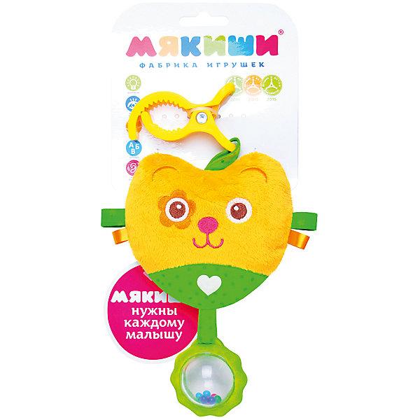 Подвеска Мишка, МякишиИгрушки для новорожденных<br>Характеристики товара:<br><br>• материал: разнофактурный текстиль, холлофайбер<br>• комплектация: 1 шт<br>• размер игрушки: 16х29х4 см<br>• звуковой элемент<br>• клипса для крепления<br>• прорезыватель<br>• развивающая игрушка<br>• упаковка: ламинированный картонный холдер<br>• страна бренда: РФ<br>• страна изготовитель: РФ<br><br>Малыши активно познают мир и тянутся к новой информации. Чтобы сделать процесс изучения окружающего пространства интереснее, ребенку можно подарить развивающие игрушки. В процессе игры информация усваивается намного лучше!<br>Такие игрушки помогут занять малыша, играть ими приятно и весело. Одновременно они позволят познакомиться со многими цветами, фактурами, а также научиться извлекать звук. Подобные игрушки развивают тактильные ощущения, моторику, цветовосприятие, логику, воображение, учат фокусировать внимание. Каждое изделие абсолютно безопасно – оно создано из качественной ткани с мягким наполнителем. Игрушки производятся из качественных и проверенных материалов, которые безопасны для детей.<br><br>Подвеску Мишка от бренда Мякиши можно купить в нашем интернет-магазине.<br><br>Ширина мм: 320<br>Глубина мм: 160<br>Высота мм: 40<br>Вес г: 40<br>Возраст от месяцев: 12<br>Возраст до месяцев: 36<br>Пол: Унисекс<br>Возраст: Детский<br>SKU: 5183208
