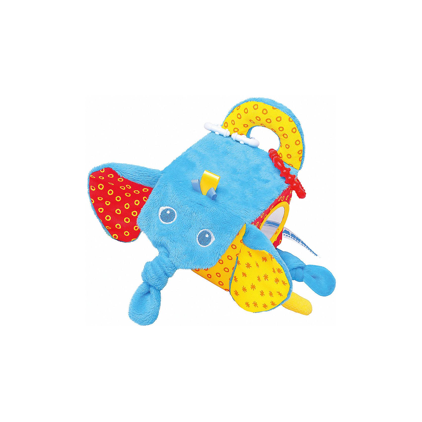 Кубик Слон, МякишиМягкие игрушки<br>Характеристики товара:<br><br>• материал: разнофактурный текстиль, поролон<br>• комплектация: 1 шт<br>• размер игрушки: 5х20х10 см<br>• звуковой элемент<br>• подвес<br>• прорезыватель<br>• развивающая игрушка<br>• упаковка: картон<br>• страна бренда: РФ<br>• страна изготовитель: РФ<br><br>Малыши активно познают мир и тянутся к новой информации. Чтобы сделать процесс изучения окружающего пространства интереснее, ребенку можно подарить развивающие игрушки. В процессе игры информация усваивается намного лучше!<br>Такие игрушки помогут занять малыша, играть ими приятно и весело. Одновременно они позволят познакомиться со многими цветами, фактурами, а также научиться извлекать звук. Подобные игрушки развивают тактильные ощущения, моторику, цветовосприятие, логику, воображение, учат фокусировать внимание. Каждое изделие абсолютно безопасно – оно создано из качественной ткани с мягким наполнителем. Игрушки производятся из качественных и проверенных материалов, которые безопасны для детей.<br><br>Кубик Слон от бренда Мякиши можно купить в нашем интернет-магазине.<br><br>Ширина мм: 155<br>Глубина мм: 200<br>Высота мм: 100<br>Вес г: 90<br>Возраст от месяцев: 12<br>Возраст до месяцев: 36<br>Пол: Унисекс<br>Возраст: Детский<br>SKU: 5183212