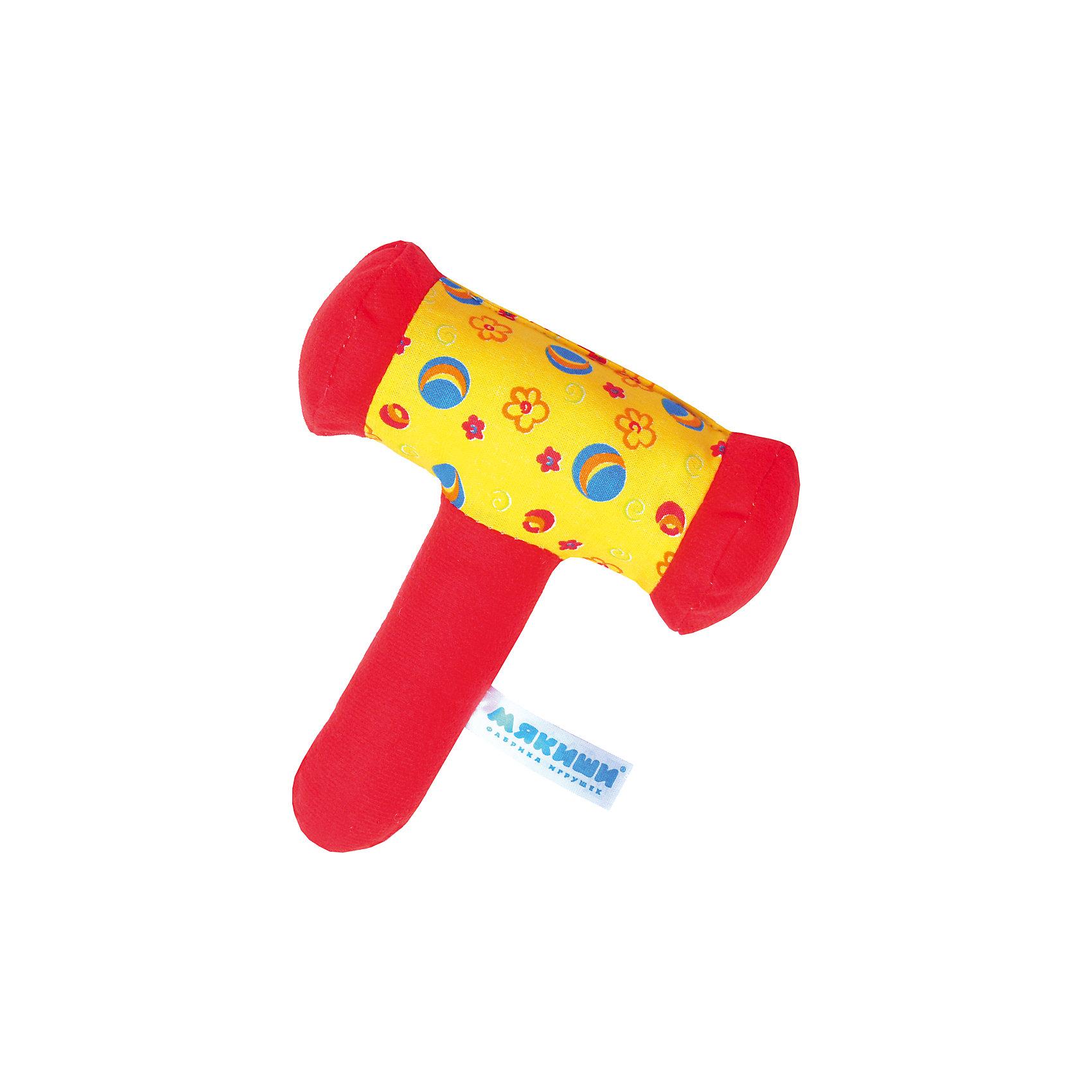 """Развивающая погремушка """"Колотушка"""", МякишиМягкие игрушки<br>Характеристики товара:<br><br>• материал: разнофактурный текстиль, поролон<br>• комплектация: 1 шт<br>• размер игрушки: 13х17 см<br>• звуковой элемент<br>• развивающая игрушка<br>• упаковка: картон<br>• страна бренда: РФ<br>• страна изготовитель: РФ<br><br>Малыши активно познают мир и тянутся к новой информации. Чтобы сделать процесс изучения окружающего пространства интереснее, ребенку можно подарить развивающие игрушки. В процессе игры информация усваивается намного лучше!<br>Такие игрушки помогут занять малыша, играть ими приятно и весело. Одновременно они позволят познакомиться со многими цветами, фактурами, а также научиться извлекать звук. Подобные игрушки развивают тактильные ощущения, моторику, цветовосприятие, логику, воображение, учат фокусировать внимание. Каждое изделие абсолютно безопасно – оно создано из качественной ткани с мягким наполнителем. Игрушки производятся из качественных и проверенных материалов, которые безопасны для детей.<br><br>Развивающую погремушку """"Колотушка"""" от бренда Мякиши можно купить в нашем интернет-магазине.<br><br>Ширина мм: 140<br>Глубина мм: 40<br>Высота мм: 170<br>Вес г: 250<br>Возраст от месяцев: 12<br>Возраст до месяцев: 36<br>Пол: Унисекс<br>Возраст: Детский<br>SKU: 5183217"""