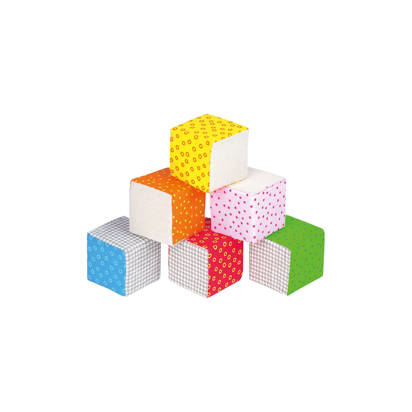 Эко Кубики, МякишиМягкие игрушки<br>Характеристики товара:<br><br>• материал: хлопок, лён, поролон<br>• комплектация: 6 шт<br>• размер кубика: 6х6 см<br>• размер упаковки: 14 x 26 x 7 см<br>• развивающая игрушка<br>• звуковой элемент в одном кубике<br>• упаковка: пакет<br>• страна бренда: РФ<br>• страна изготовитель: РФ<br><br>Малыши активно познают мир и тянутся к новой информации. Чтобы сделать процесс изучения окружающего пространства интереснее, ребенку можно подарить развивающие игрушки. В процессе игры информация усваивается намного лучше!<br>Такие кубики помогут занять малыша, играть ими приятно и весело. Одновременно они позволят познакомиться с разными цветами и фактурами. Такие игрушки развивают тактильные ощущения, моторику, цветовосприятие, логику, воображение, учат фокусировать внимание. Каждое изделие абсолютно безопасно – оно создано из качественной ткани с мягким наполнителем. Игрушки производятся из качественных и проверенных материалов, которые безопасны для детей.<br><br>Эко Кубики от бренда Мякиши можно купить в нашем интернет-магазине.<br><br>Ширина мм: 140<br>Глубина мм: 65<br>Высота мм: 260<br>Вес г: 80<br>Возраст от месяцев: 12<br>Возраст до месяцев: 36<br>Пол: Унисекс<br>Возраст: Детский<br>SKU: 5183220