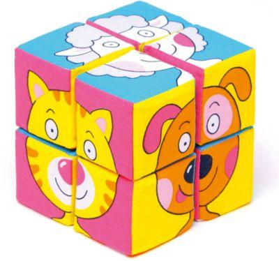 Кубики Собираем картину - зверята , Мякиши