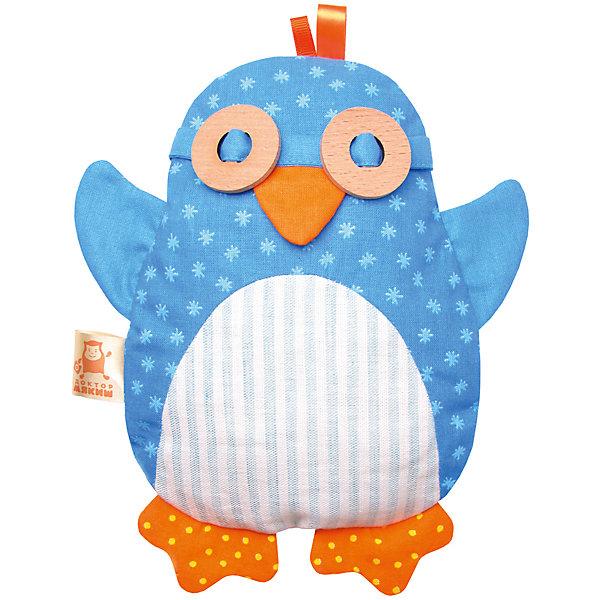 Термоигрушка Доктор Мякиш-Пингвин, МякишиМягкие игрушки<br>Характеристики товара:<br><br>• материал: лён, вишнёвые косточки, вышивка, холлофайбер, хлопок<br>• комплектация: 1 шт<br>• размер игрушки: 17х22х4 см<br>• размер упаковки: 26х17х4 см<br>• развивающая игрушка<br>• упаковка: картон<br>• вишневые косточки внутри<br>• страна бренда: РФ<br>• страна изготовитель: РФ<br><br>Малыши активно познают мир и тянутся к новой информации. Чтобы сделать процесс изучения окружающего пространства интереснее, ребенку можно подарить развивающие игрушки. В процессе игры информация усваивается намного лучше!<br>Такие термоигрушки содержат внутри мешочек с вишневыми косточками, которые можно нагреть или остудить, после чего вложить в игрушку. Также изделия помогут занять малыша, играть с ними приятно и весело. Одновременно игрушка позволит познакомиться с разными цветами и фактурами. Такие игрушки развивают тактильные ощущения, моторику, цветовосприятие, логику, воображение, учат фокусировать внимание. Каждое изделие абсолютно безопасно – оно создано из качественной ткани с мягким наполнителем. Игрушки производятся из качественных и проверенных материалов, которые безопасны для детей.<br><br>Термоигрушку Доктор Мякиш-Пингвин от бренда Мякиши можно купить в нашем интернет-магазине.<br><br>Ширина мм: 170<br>Глубина мм: 30<br>Высота мм: 220<br>Вес г: 150<br>Возраст от месяцев: 12<br>Возраст до месяцев: 36<br>Пол: Унисекс<br>Возраст: Детский<br>SKU: 5183228