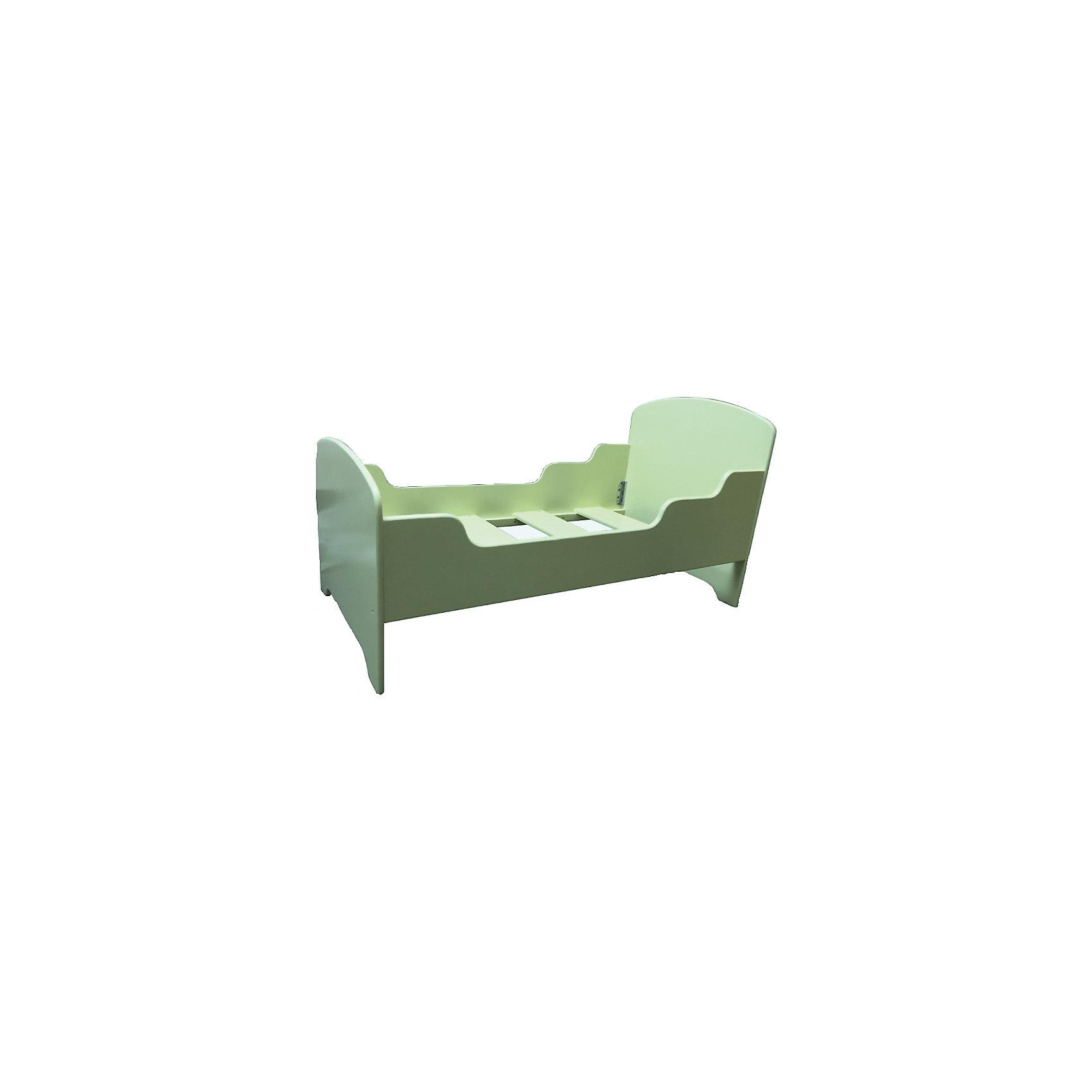 Кроватка детская 140 х 70 , Русэкомебель, фисташковый