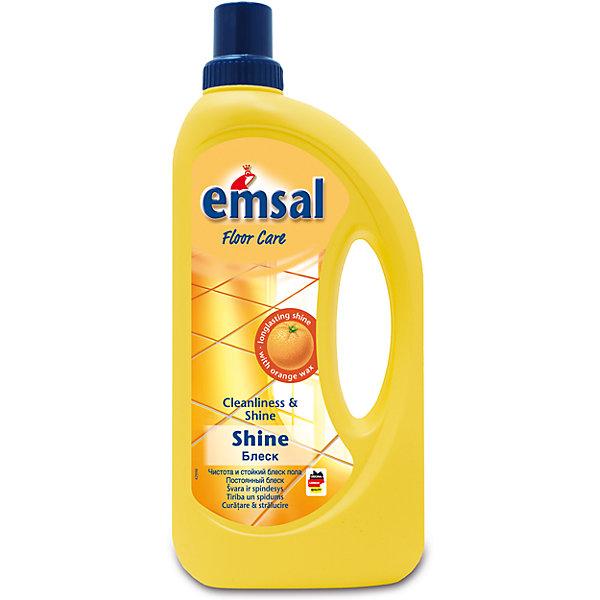 Блеск (для мойки и полировки любых полов), 1 л., Emsal TubaБытовая химия<br>Характеристики товара:<br><br>• объем: 1 л<br>• упаковка: пластик<br>• страна бренда: Германия<br>• страна изготовитель: Германия<br><br>Красота поверхностей заключается не только в их чистоте и гигиеничности, но и в зеркальном блеске. Последнее может придать специальная полировка «Блеск» от компании Emsal Tuba. Подходит как для полировки полов, так и раковин, а так же других поверхностей. <br><br>Средства данного бренда не только идеально справляются со своими прямыми обязанностями, но и абсолютно безопасны. Материалы, использованные при изготовлении товара, сертифицированы и отвечают всем международным требованиям по качеству. <br><br>Блеск (для мойки и полировки любых полов), 1 л, от немецкого производителя Emsal Tuba можно приобрести в нашем интернет-магазине.<br>Ширина мм: 125; Глубина мм: 55; Высота мм: 275; Вес г: 1100; Возраст от месяцев: 216; Возраст до месяцев: 1188; Пол: Унисекс; Возраст: Детский; SKU: 5185737;