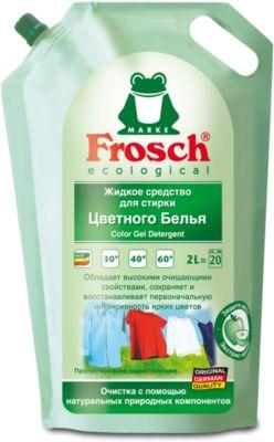 - Жидкое средство для стирки цветного белья, 2 л., Frosch